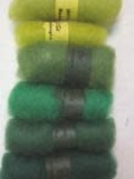 Bhedawool Bhedawool Mini Pack Greens - #0730