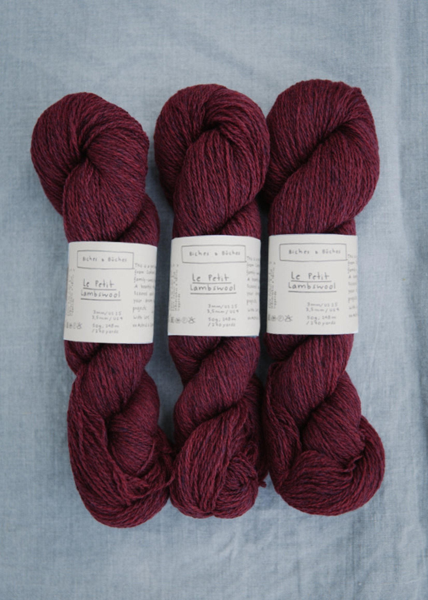 Biches & Bûches Biches & Buches Le Petit Lambswool Norwegian Red