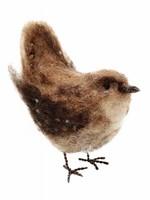 Crafty Kit Co. British Birds Jenny Wren Needle Felting Kit