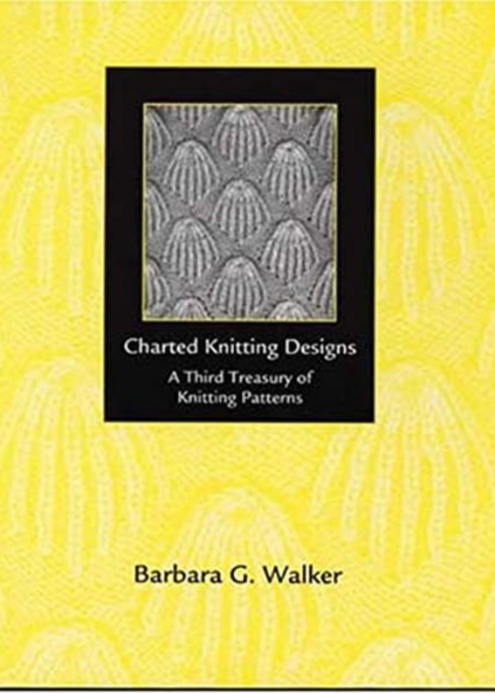 Charted Knitting Designs A Third Treasury B. Walker