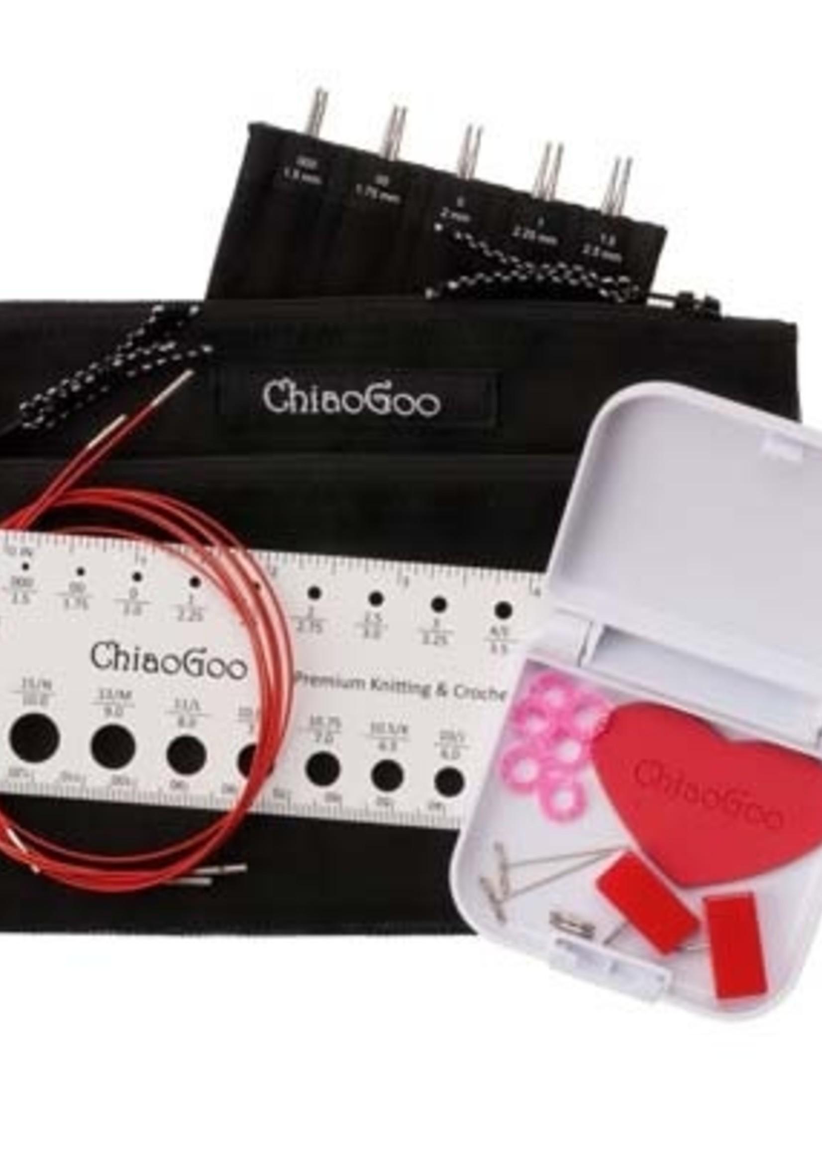 ChiaoGoo ChiaoGoo Twist Mini Interchangeable Set, 5'' tips
