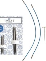 ChiaoGoo ChiaoGoo Twist Shorties Combo Pack (Blue), 4 mm