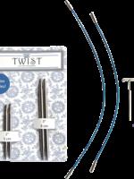 ChiaoGoo ChiaoGoo Twist Shorties Combo Pack (Blue), 5 mm