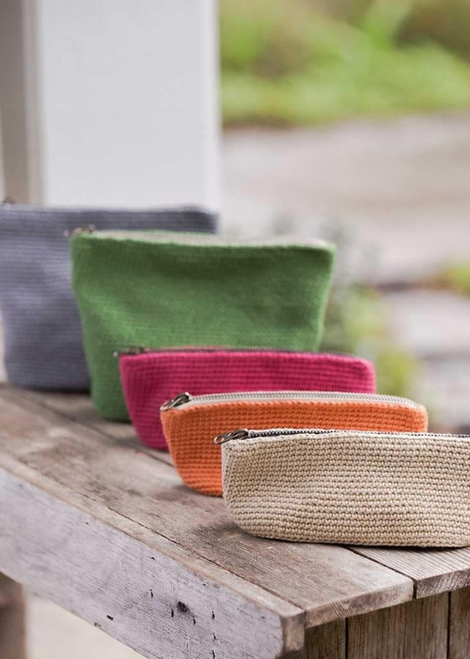 Churchmouse Churchmouse Pattern Crochet Oval Bucket Bags/Pouches