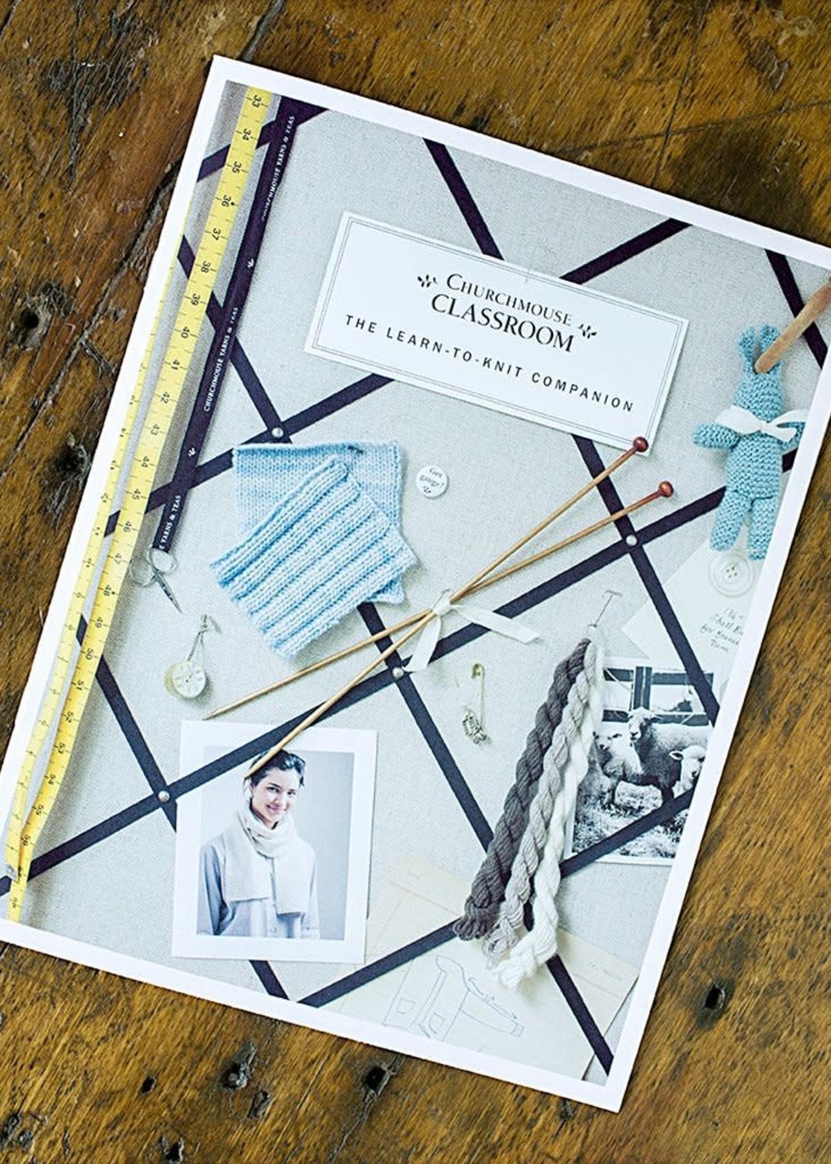 Churchmouse Churchmouse Pattern Learn to Knit Companion