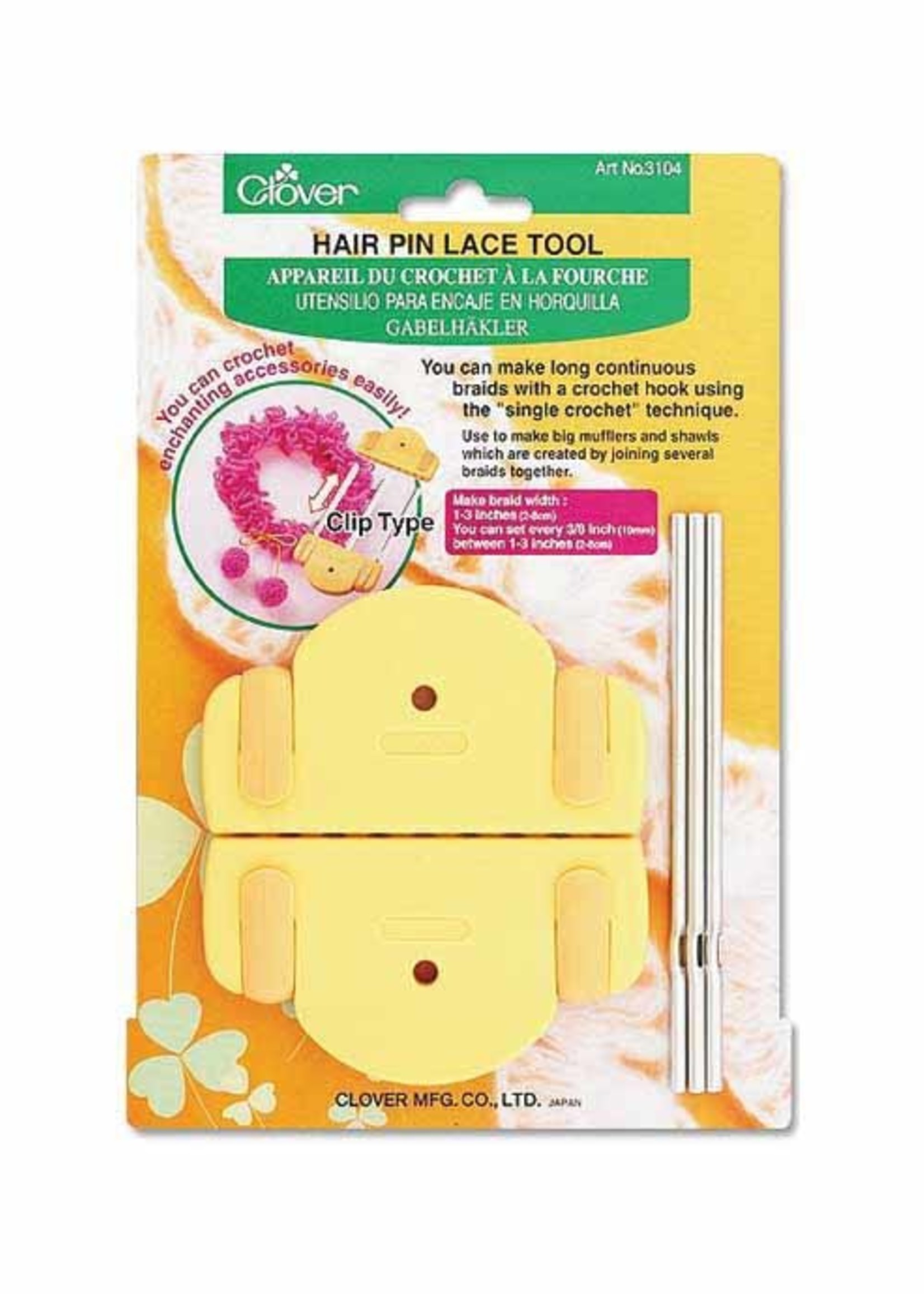 Clover Clover Hair Pin Lace Tool