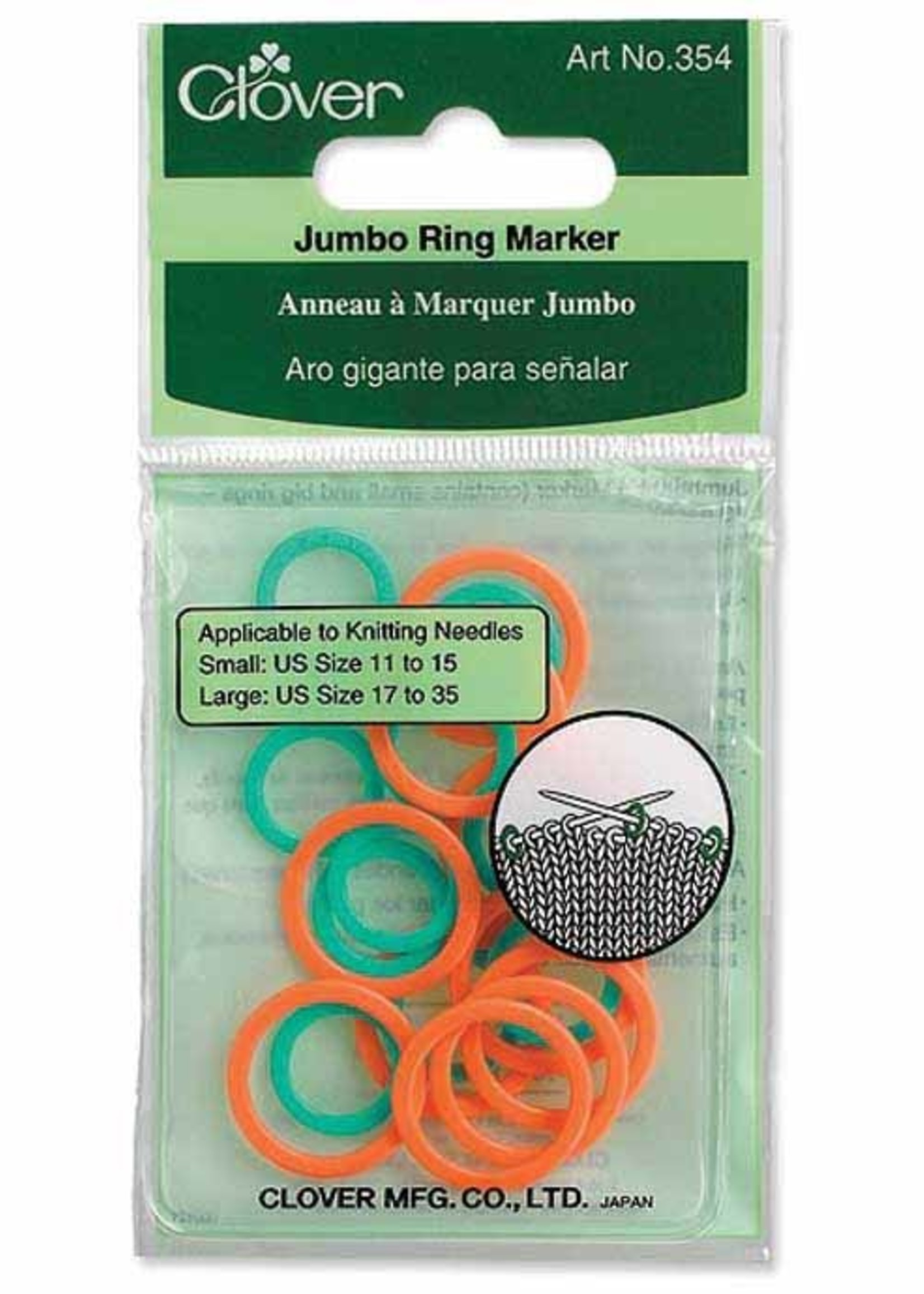 Clover Clover Jumbo Stitch Ring Markers