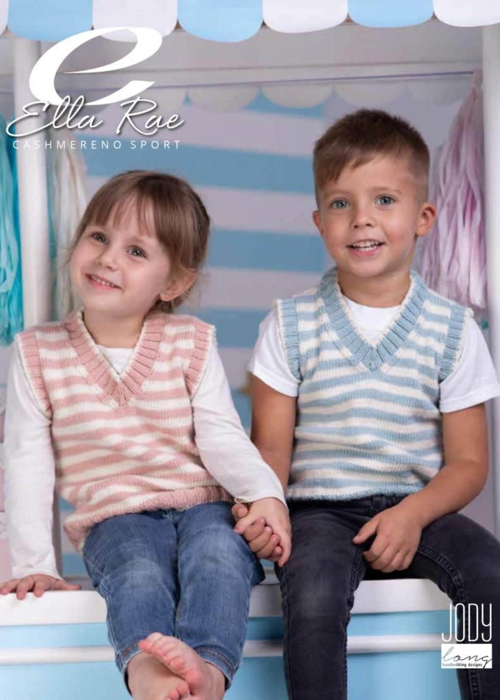 Ella Rae Ella Rae Pattern Austin and Abigail Tank Top