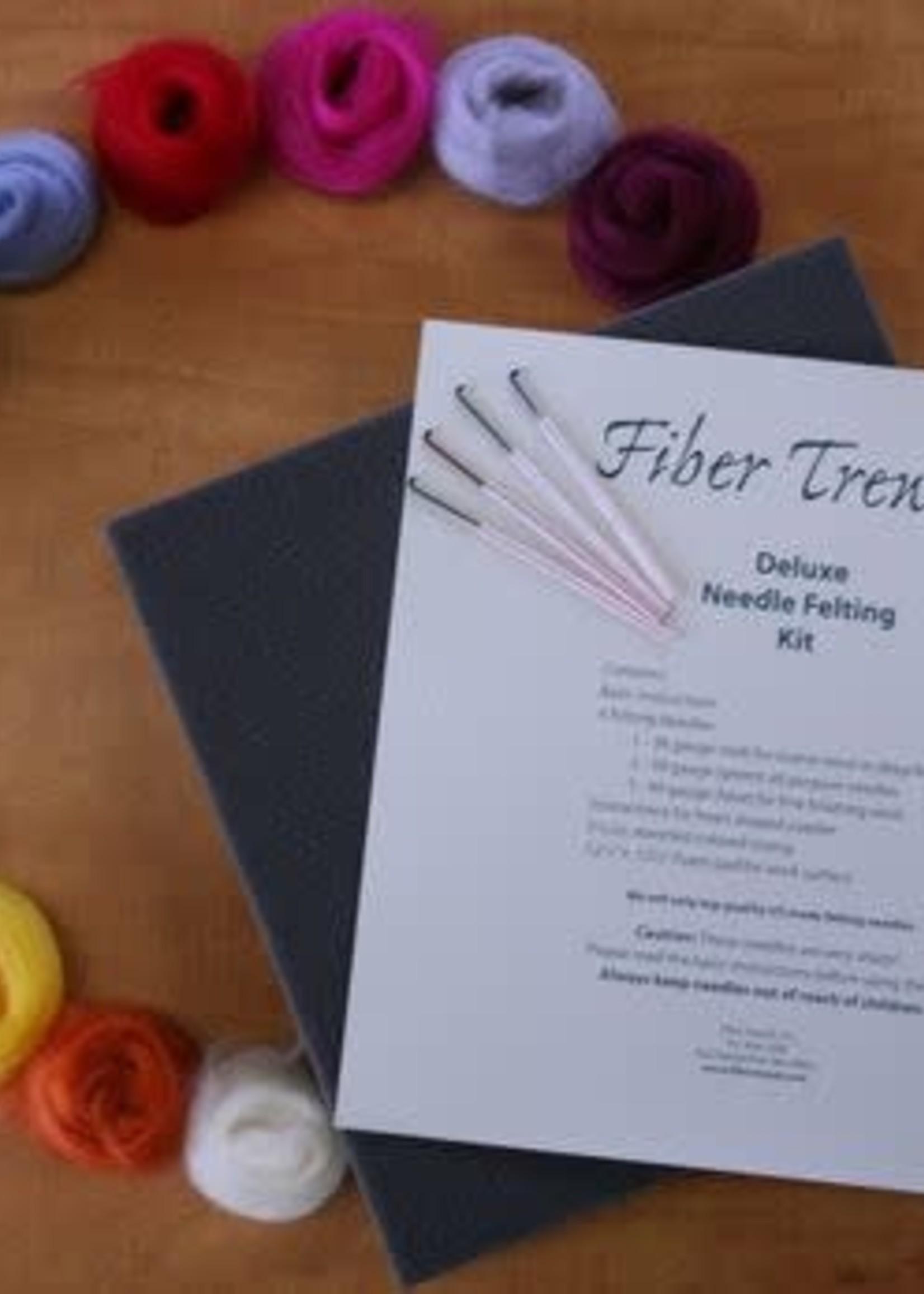 Fiber Trends Fiber Trends Needle Felting Kit - Deluxe Kit