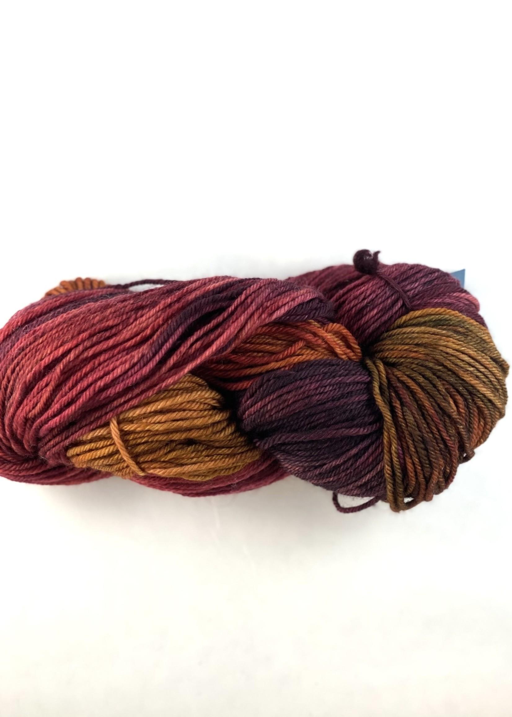 Fleece Artist Yarn Fleece Artist Chinook Yarn - Cranberry Chutney