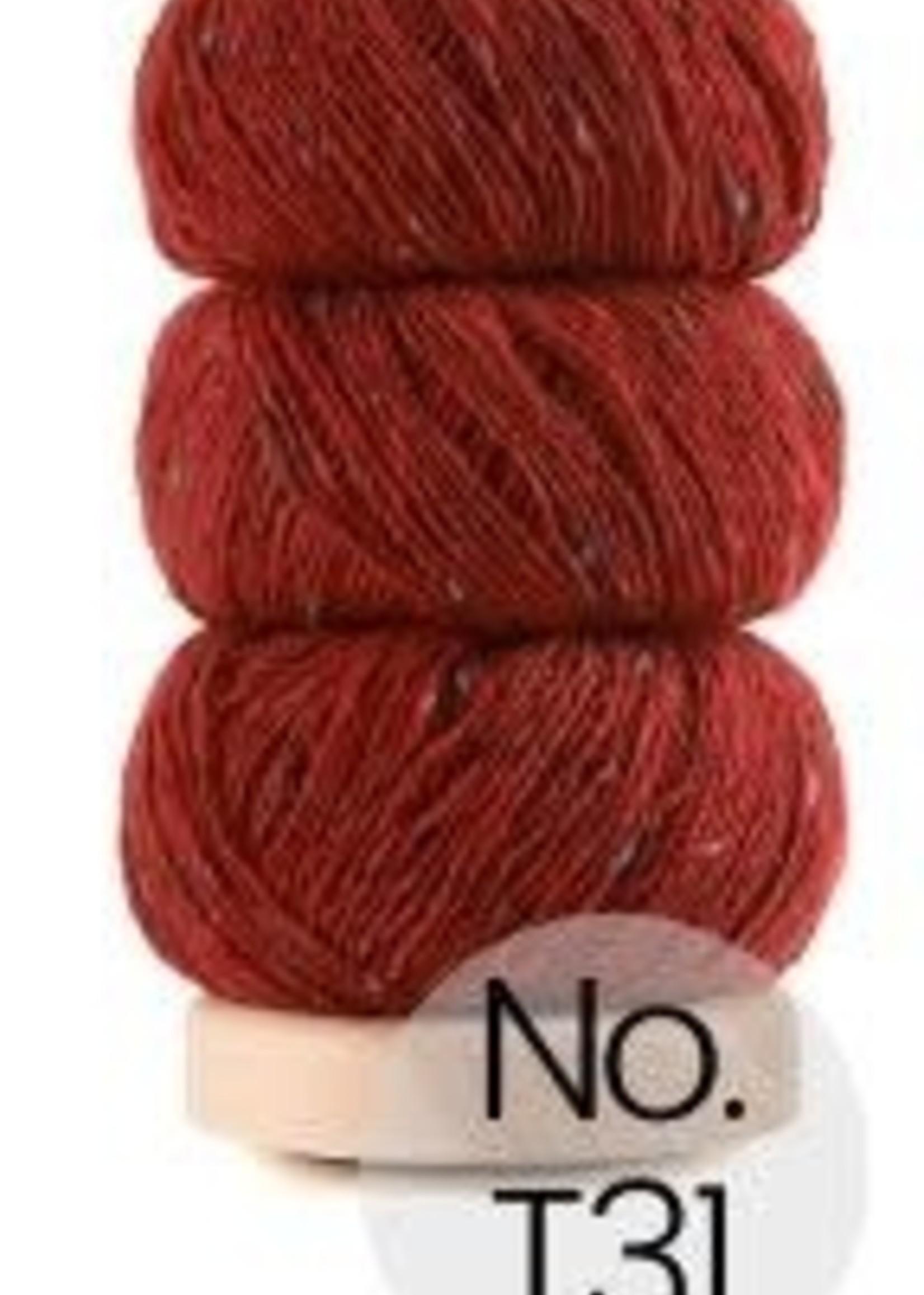 Geilsk Geilsk Tweed #31 Red