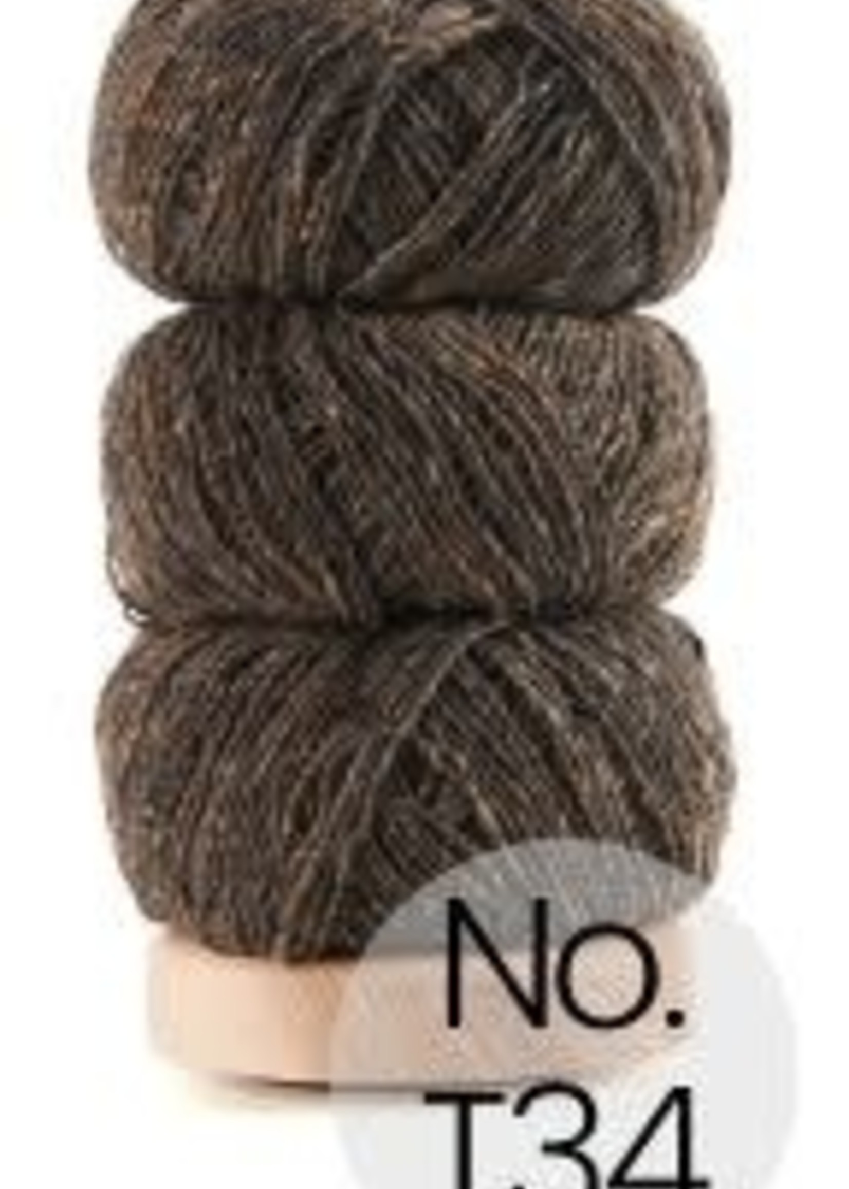 Geilsk Geilsk Tweed #34 Nice Brown with a little green