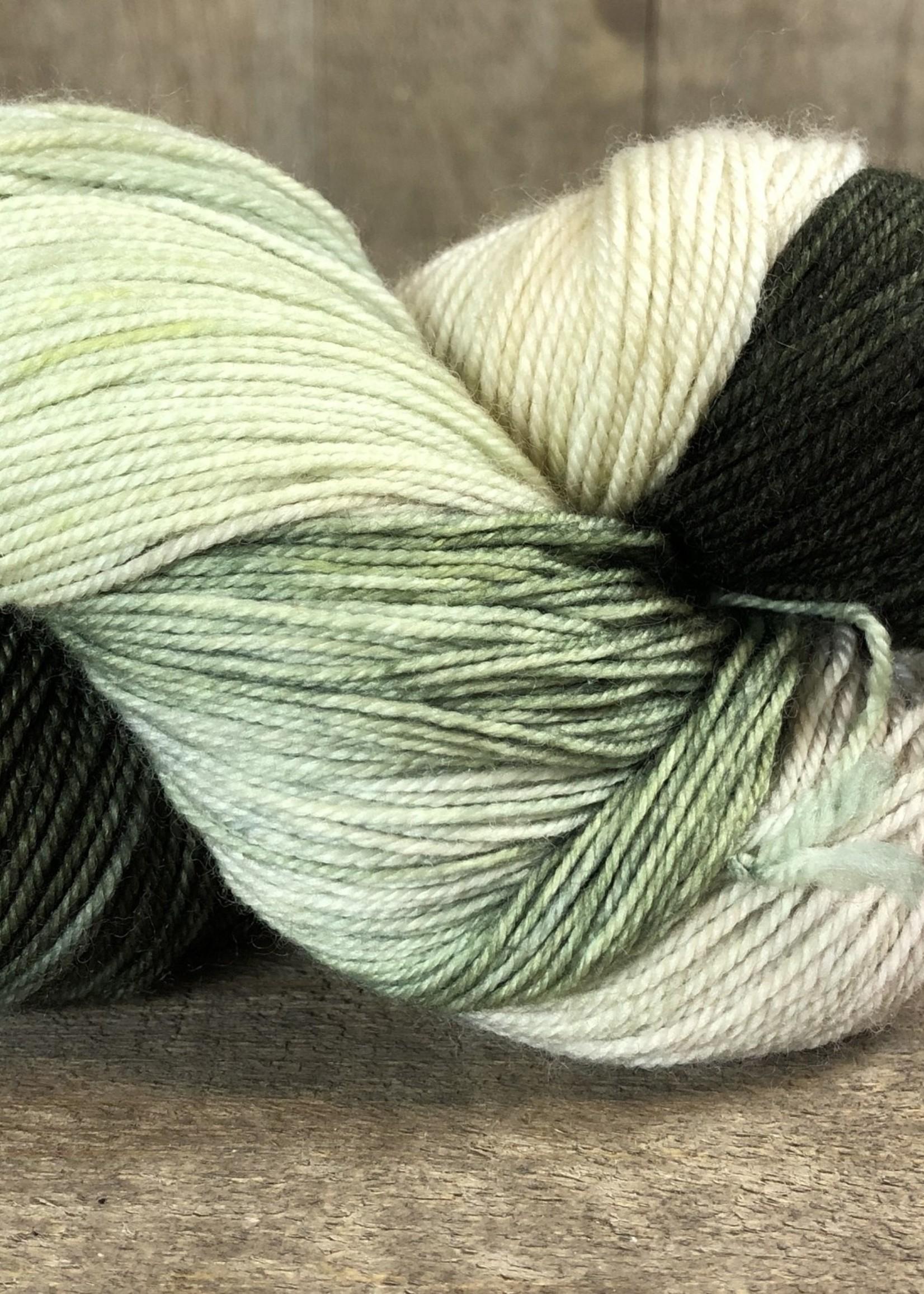 Handmaiden Fine Yarn Handmaiden Casbah Yarn Sea Oak
