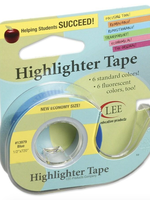 Lee Products Highlighter Tape Blue