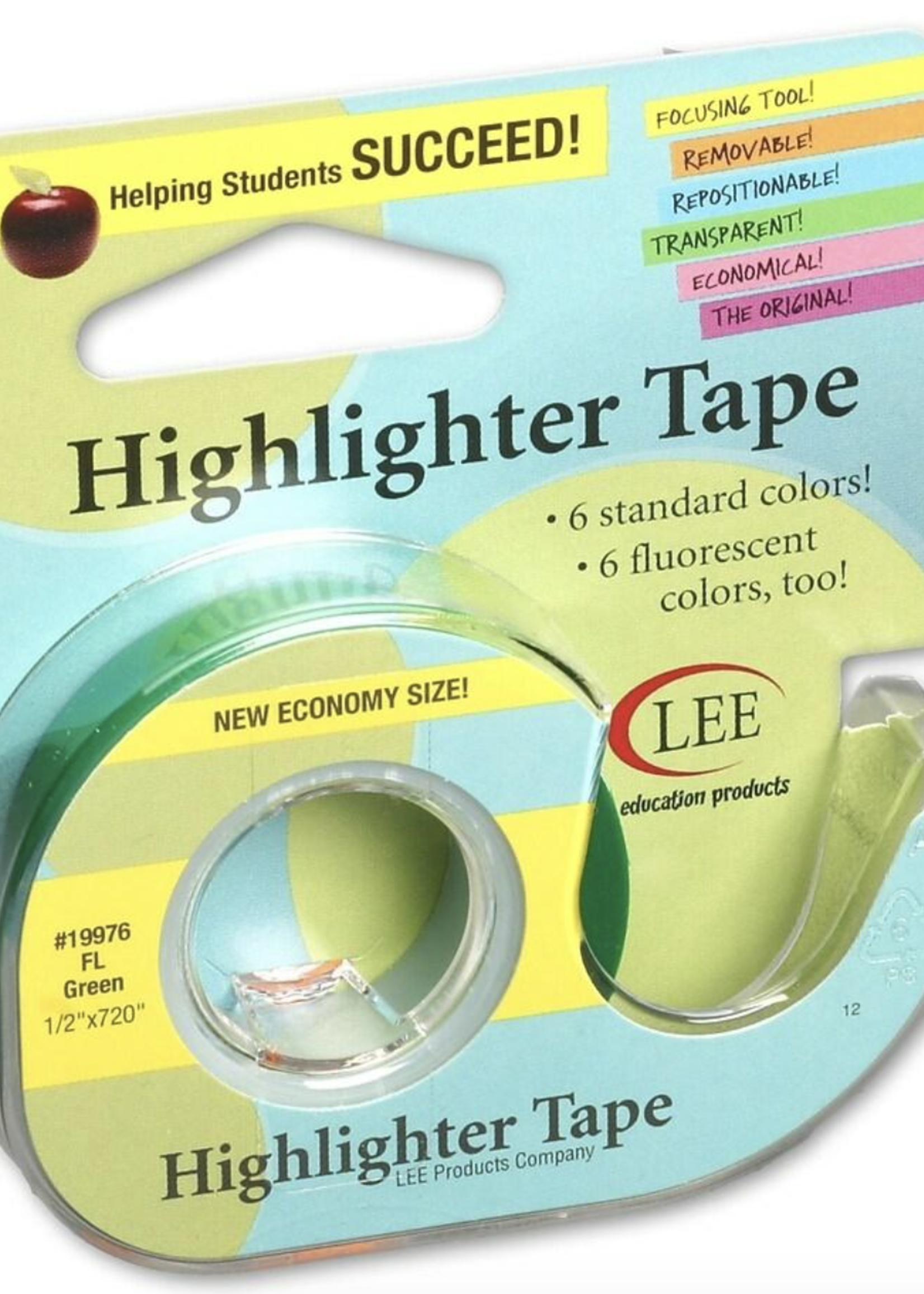 Lee Products Highlighter Tape Green