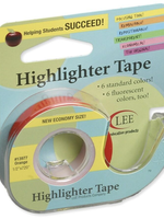 Lee Products Highlighter Tape Orange