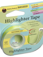 Lee Products Highlighter Tape Yellow