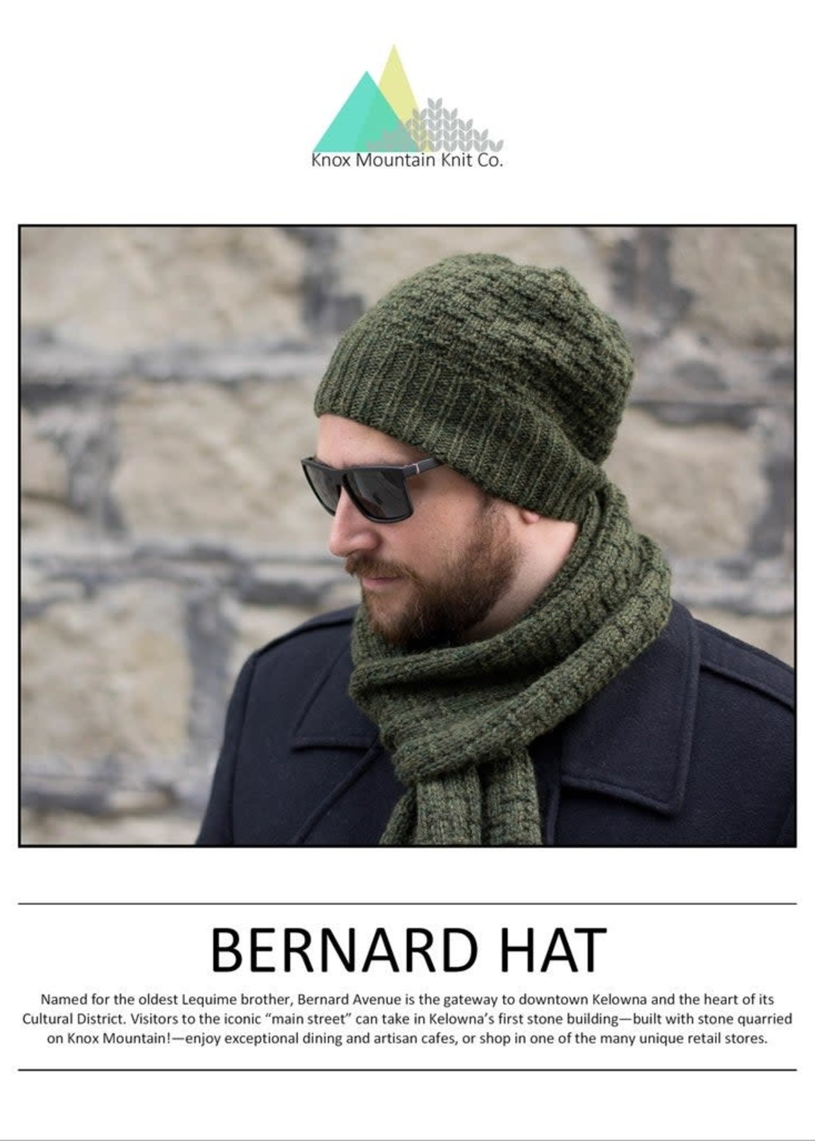 Knox Mountain Knit Co. Knox Mountain Knit Co. - Bernard Hat