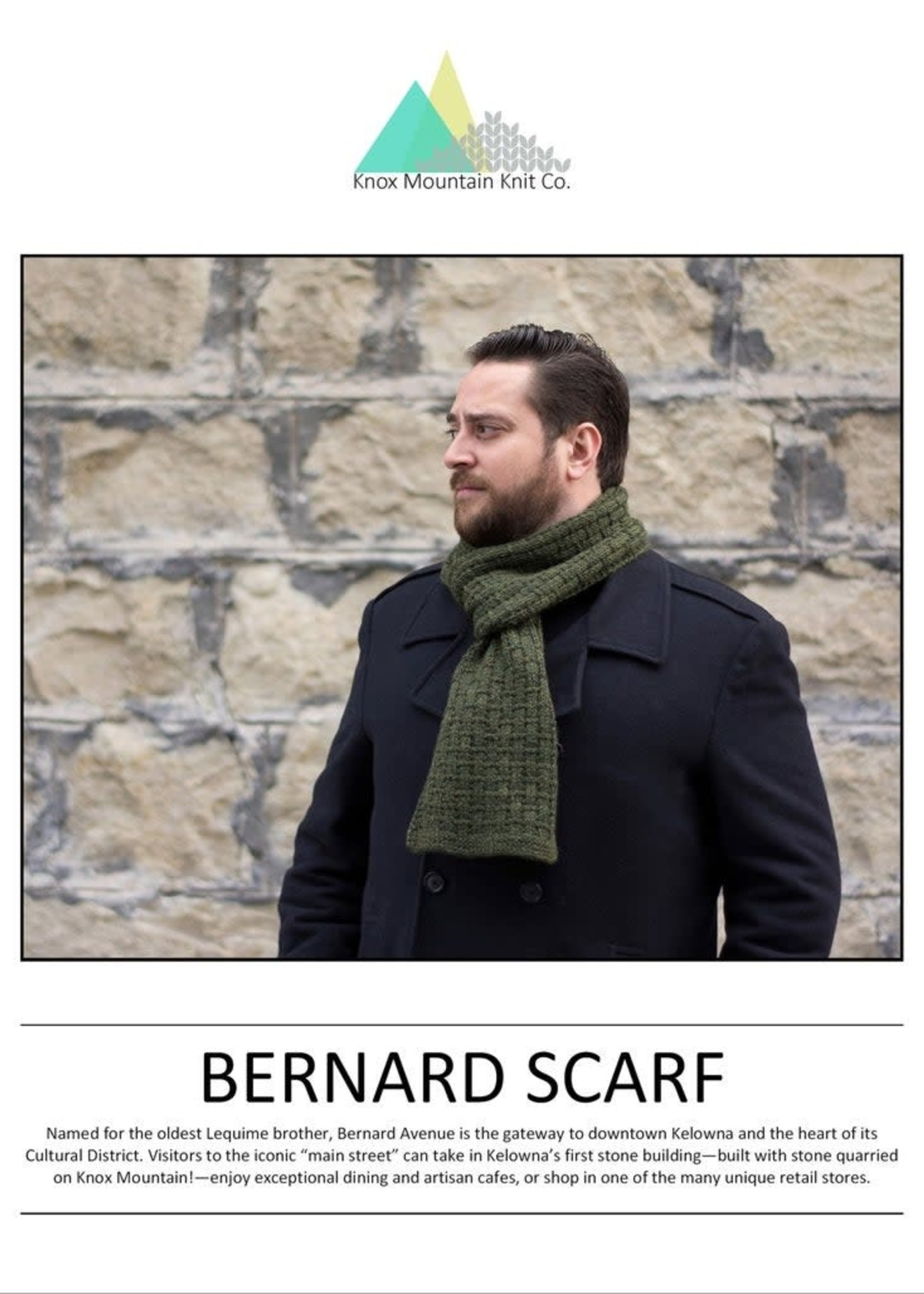 Knox Mountain Knit Co. Knox Mountain Knit Co. - Bernard Scarf