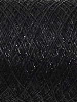 Kremke Soul Wool Kremke Stellaris Metallic Lace - 107 Just Black