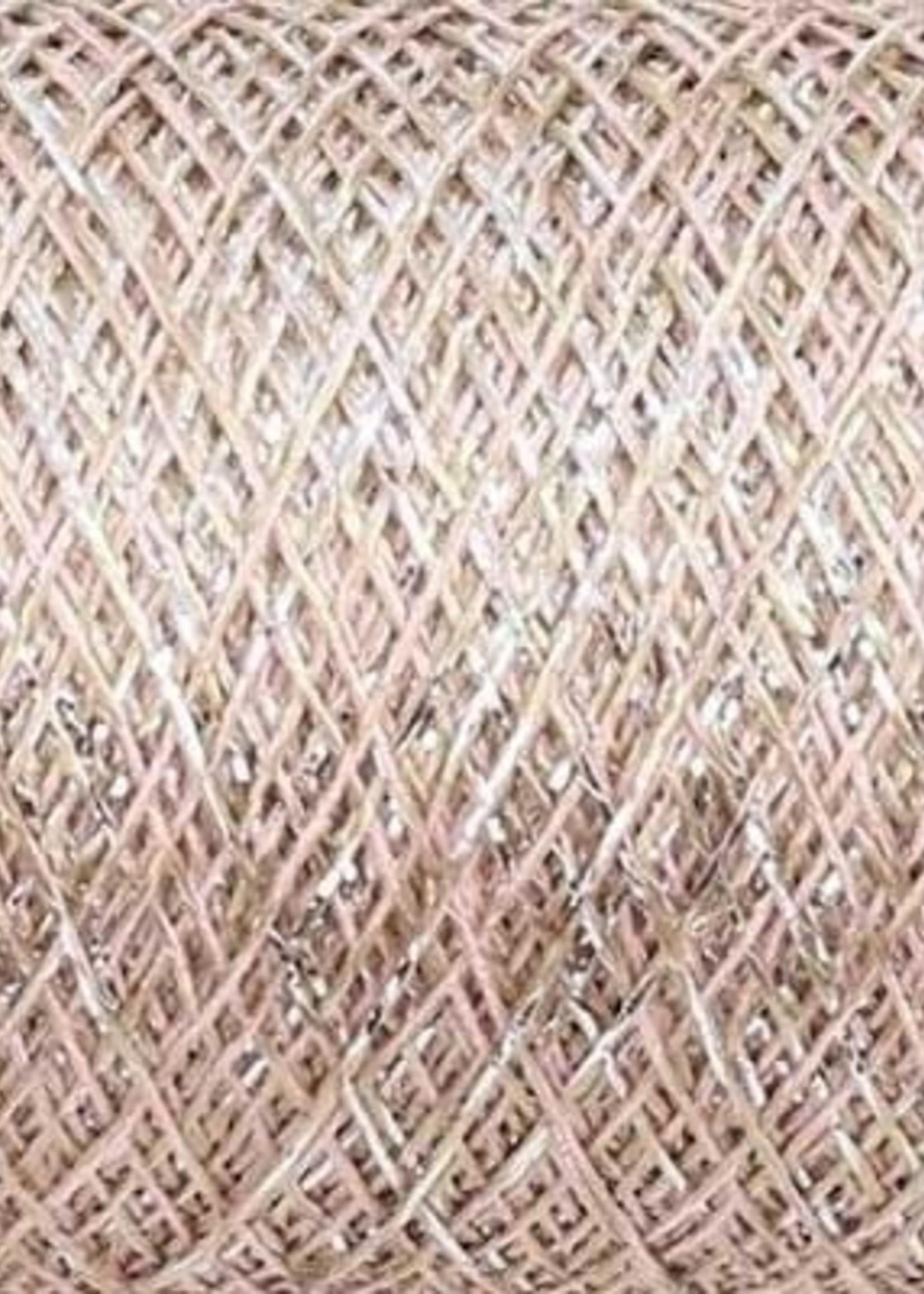 Kremke Soul Wool Kremke Stellaris Metallic Lace - 132 Light Pinky Beige Silver