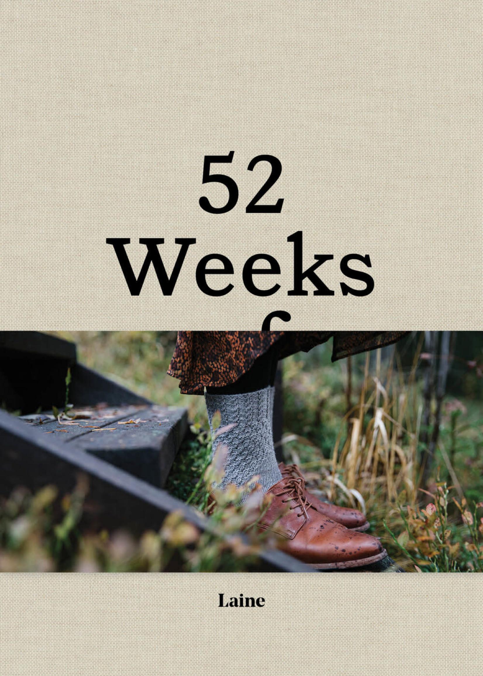 Laine Laine Press - 52 Weeks of Socks