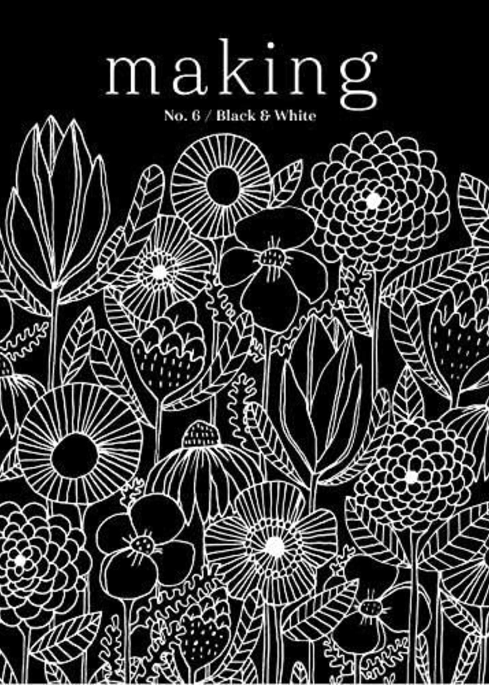 Making Making Magazine No. 6 Black & White