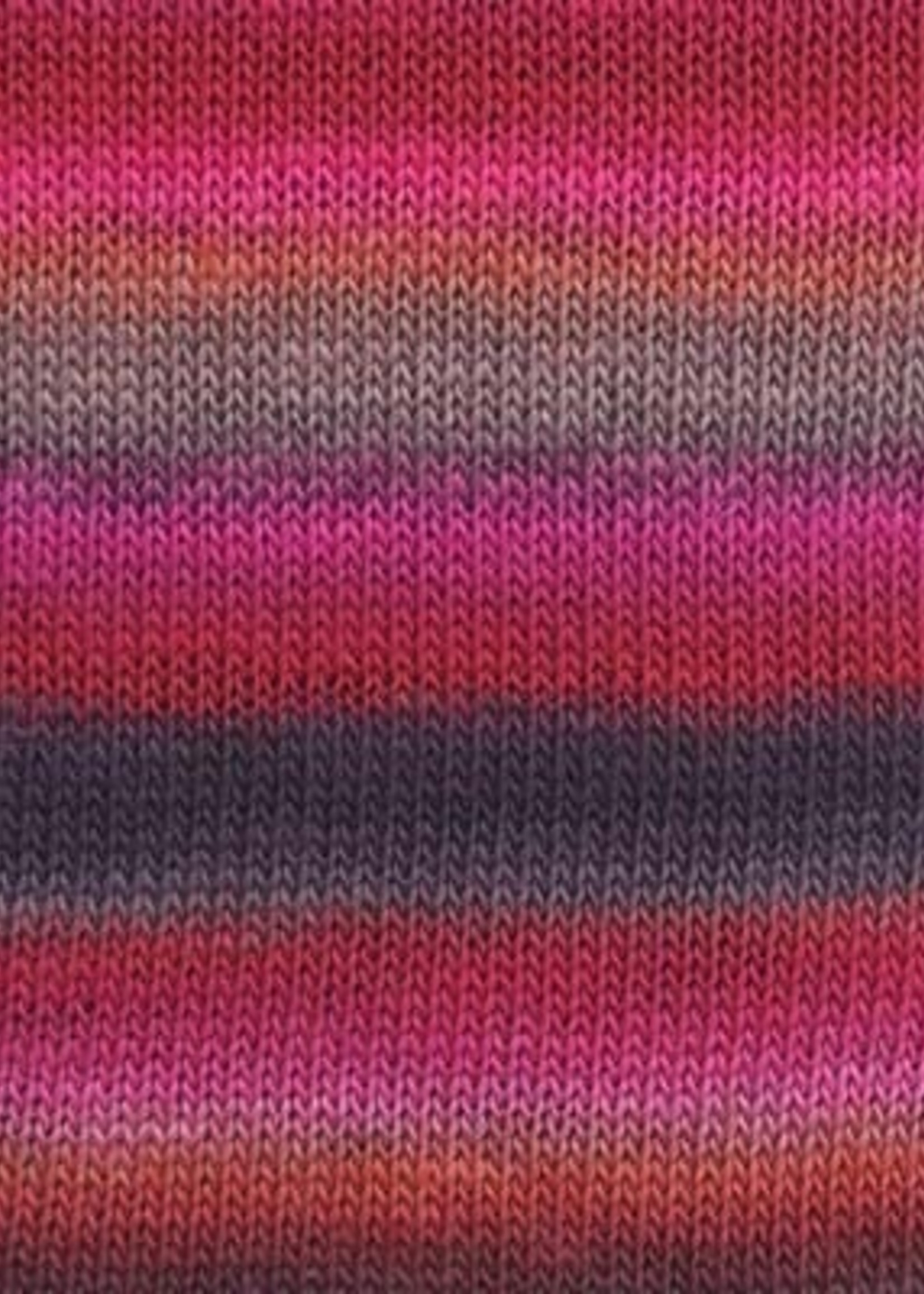 Lang Yarns Mille Colori Baby #0085 Cherry Cola