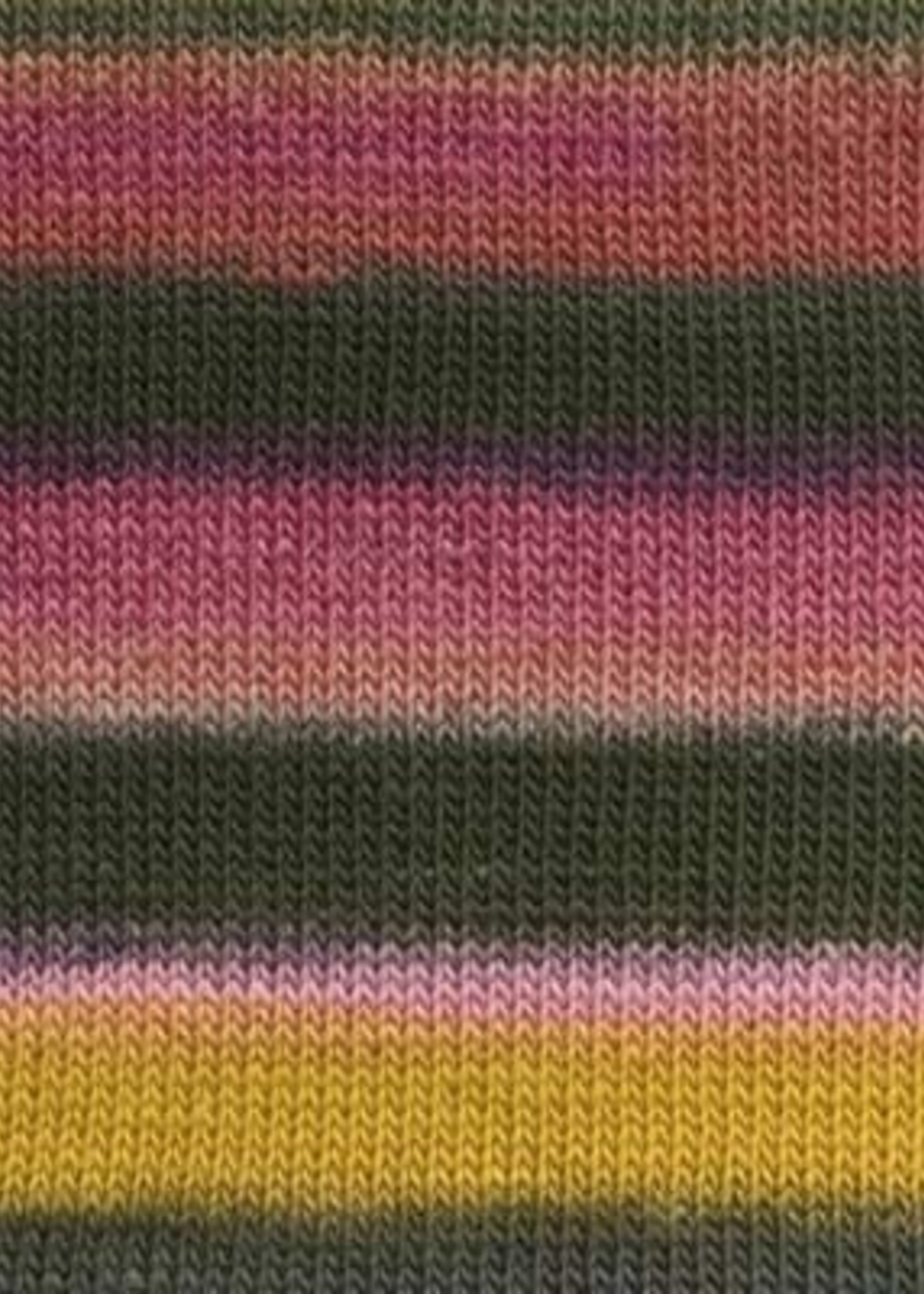 Lang Yarns Mille Colori Baby #0154 Rosegarden