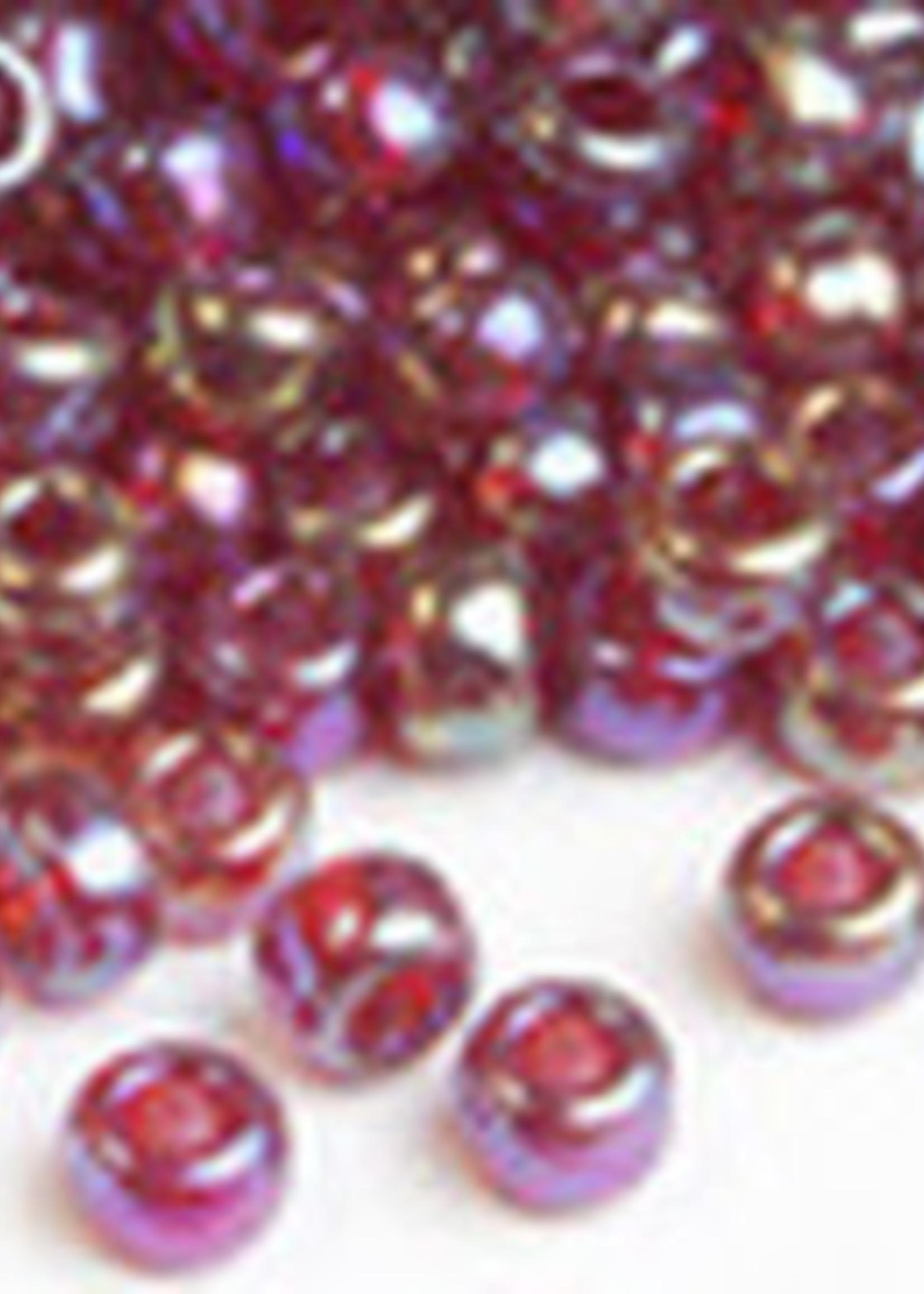 Miyuki Beads Miyuki Bead 6/0 - 298 Transparent Ruby AB