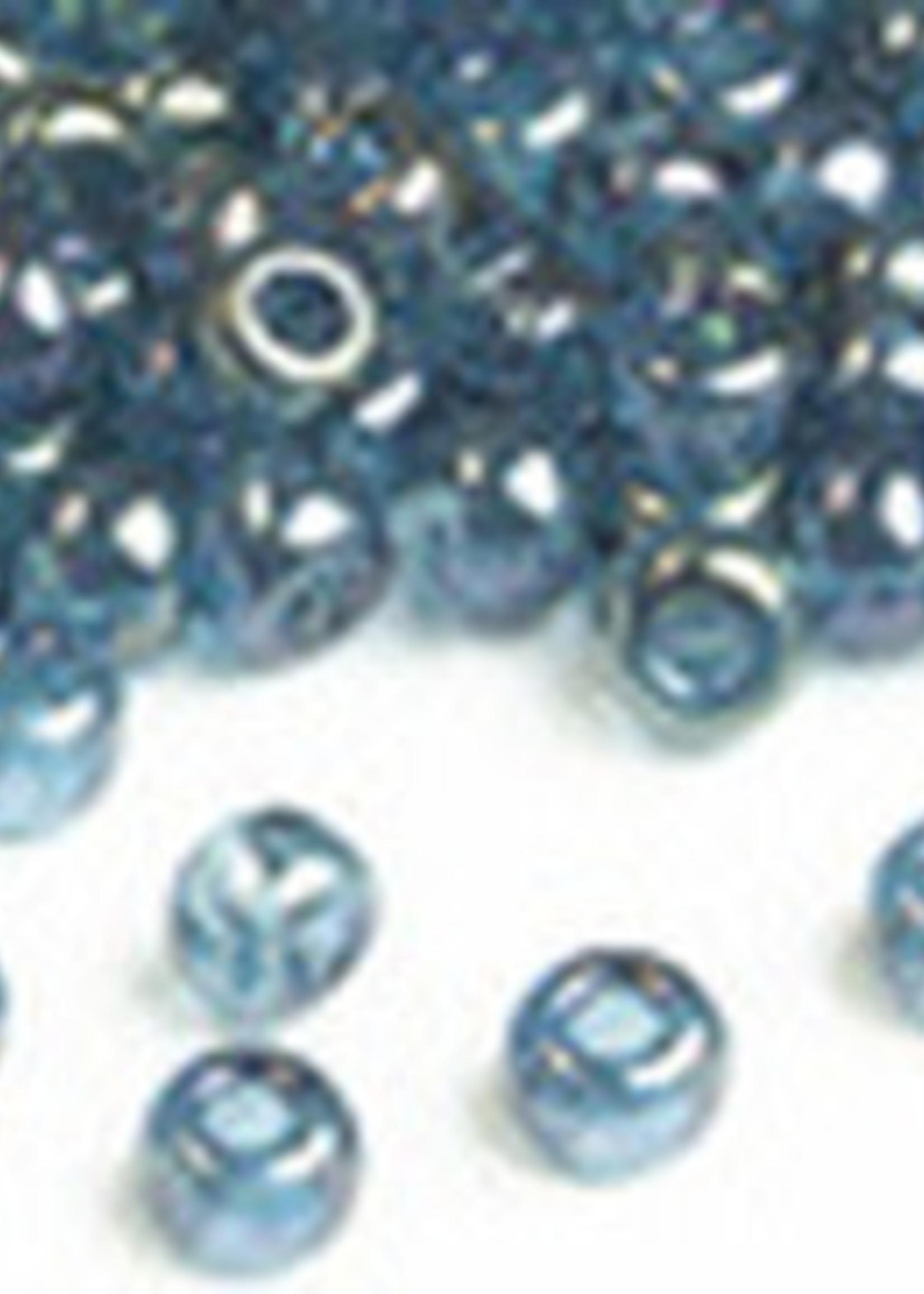 Miyuki Beads Miyuki Bead 6/0 - 305 Lake Blue Gold Luster