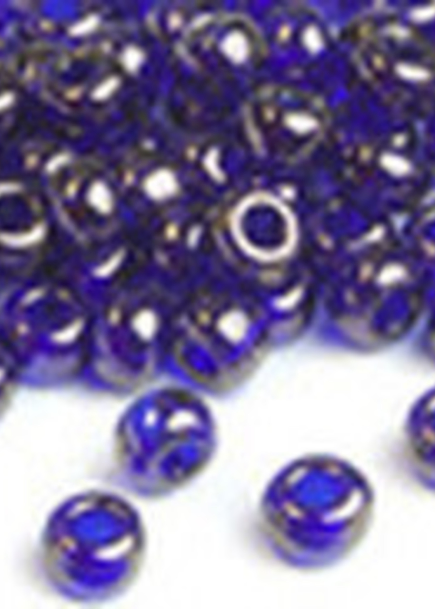 Miyuki Beads Miyuki Bead 6/0 - 308 Cobalt Blue Gold Luster