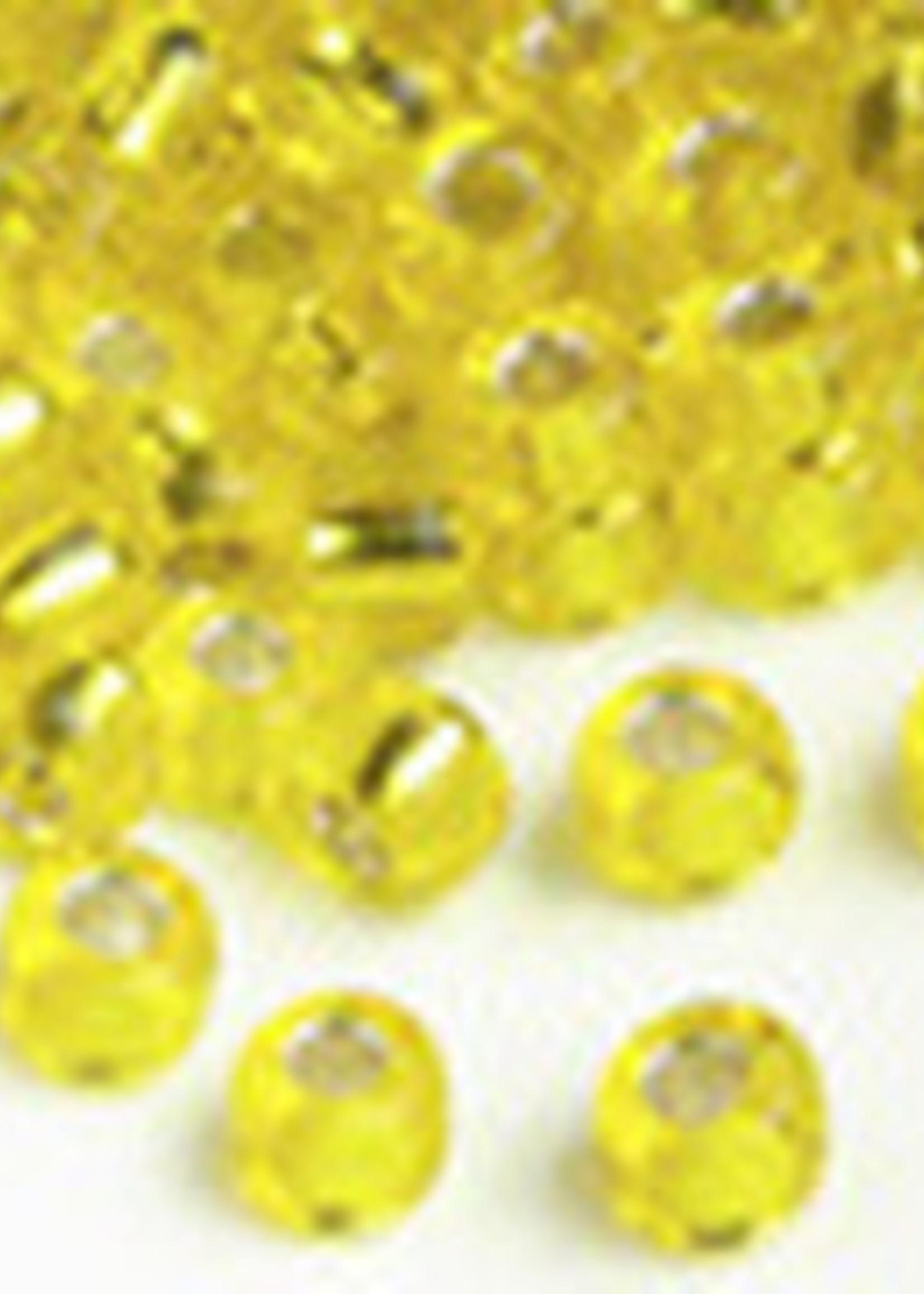 Miyuki Beads Miyuki Bead 6/0 - 6 Silverlined Yellow