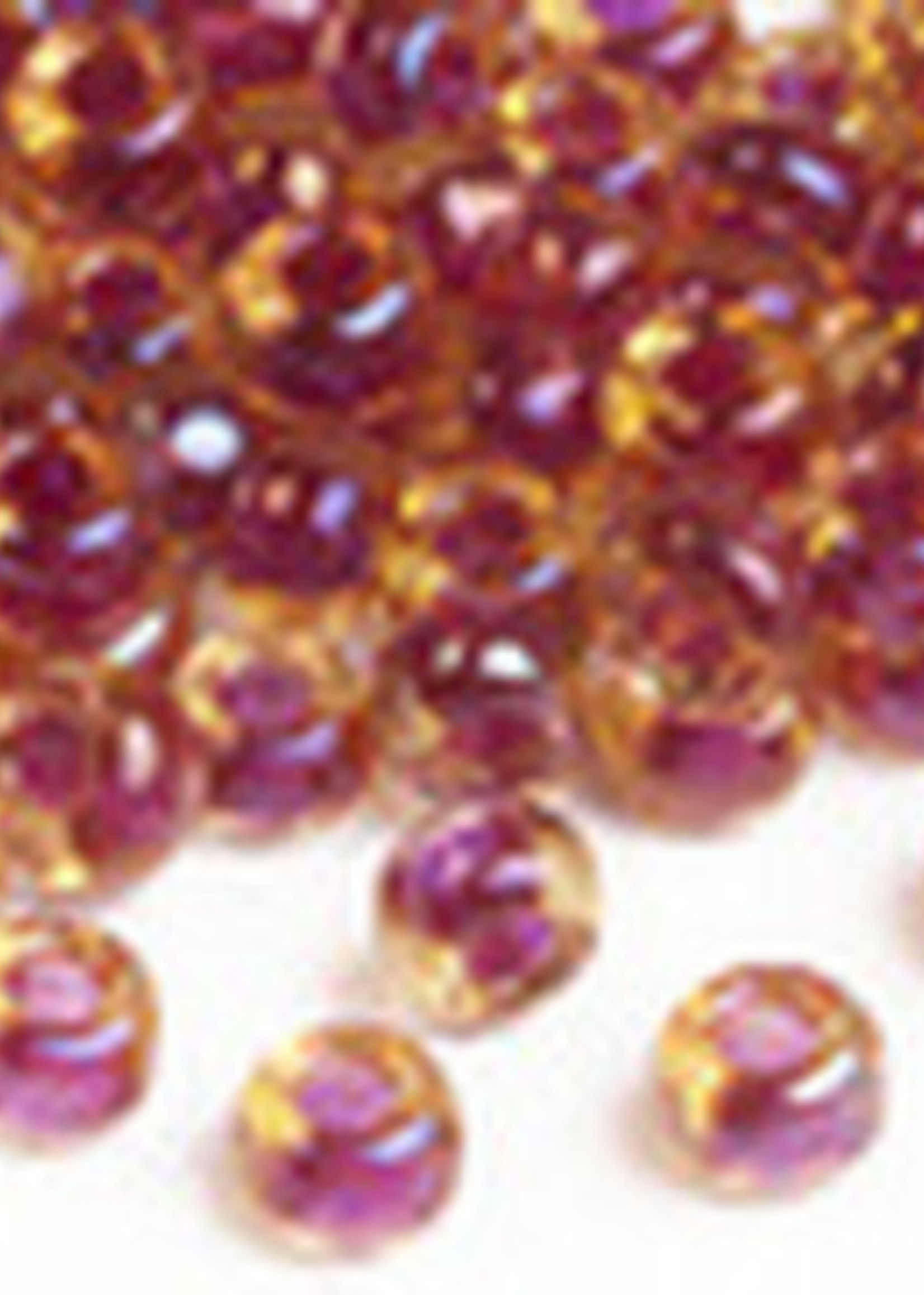 Miyuki Beads Miyuki Bead 6/0 -363 Cranberry-lined Topaz AB