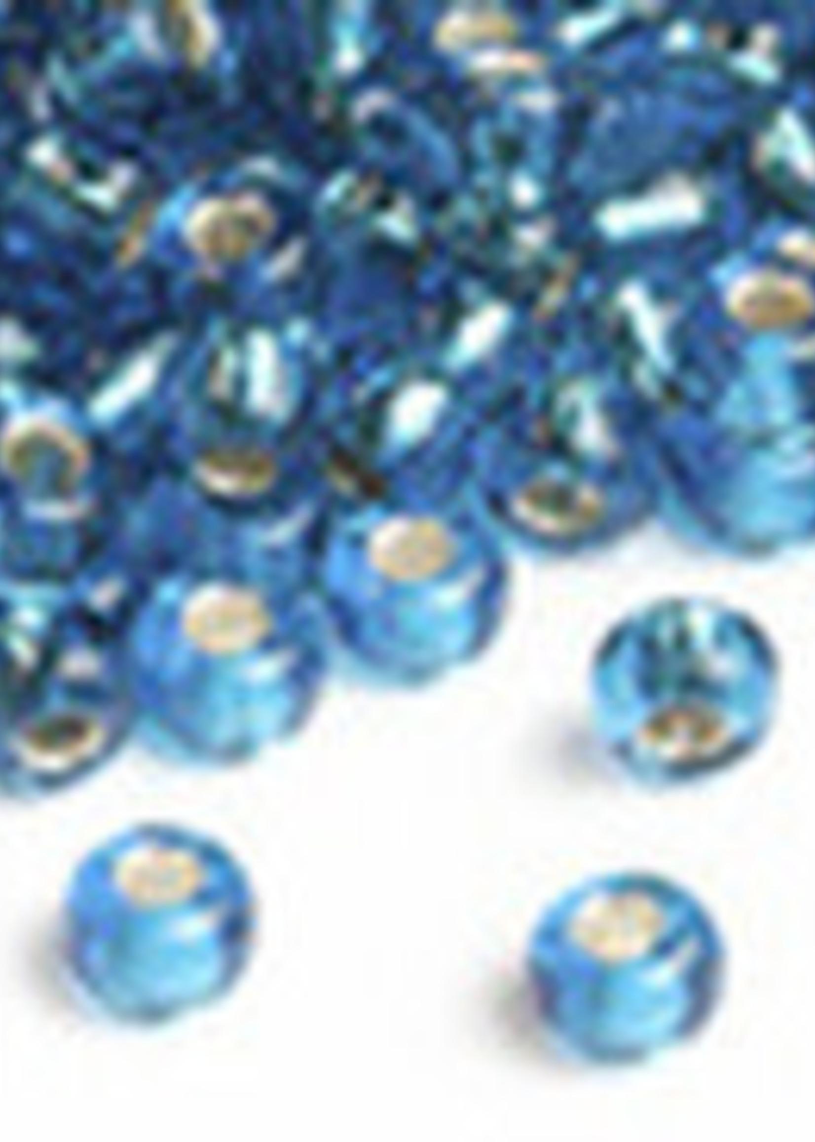 Miyuki Beads Miyuki Bead 6/0 Silverlined Capri Blue