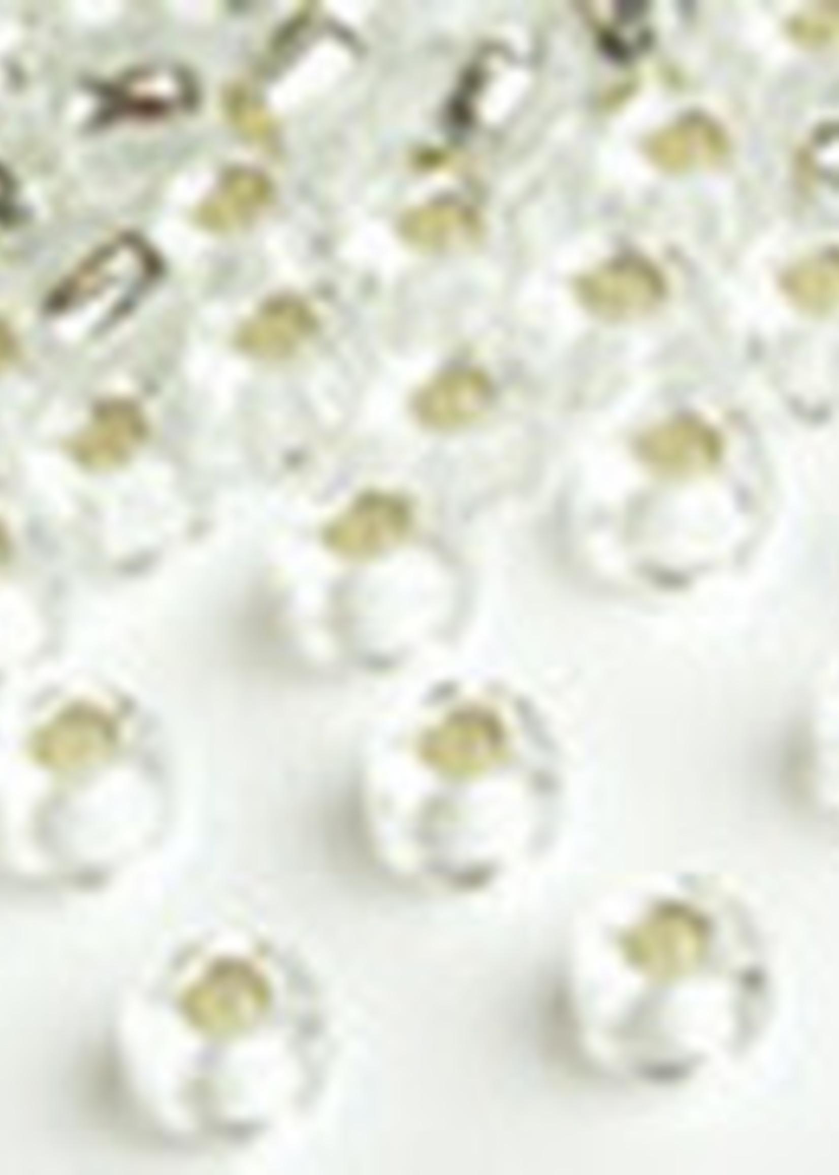 Miyuki Beads Miyuki Bead 6/0 Silverlined Crystal