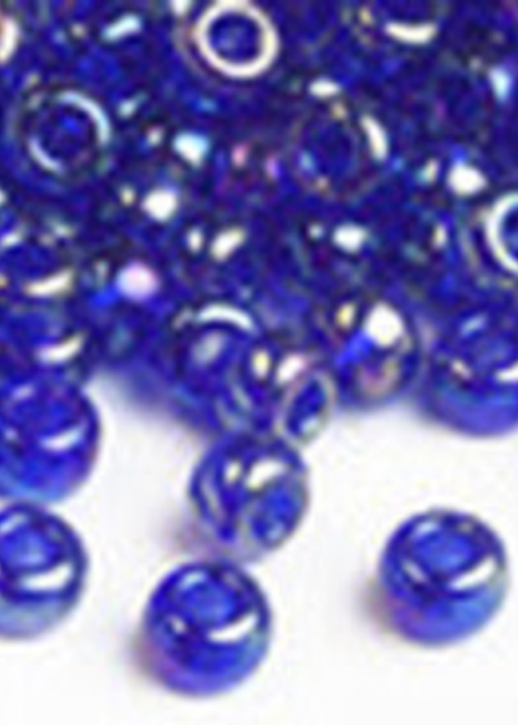 Miyuki Beads Miyuki Bead 6/0 Transparent Cobalt AB