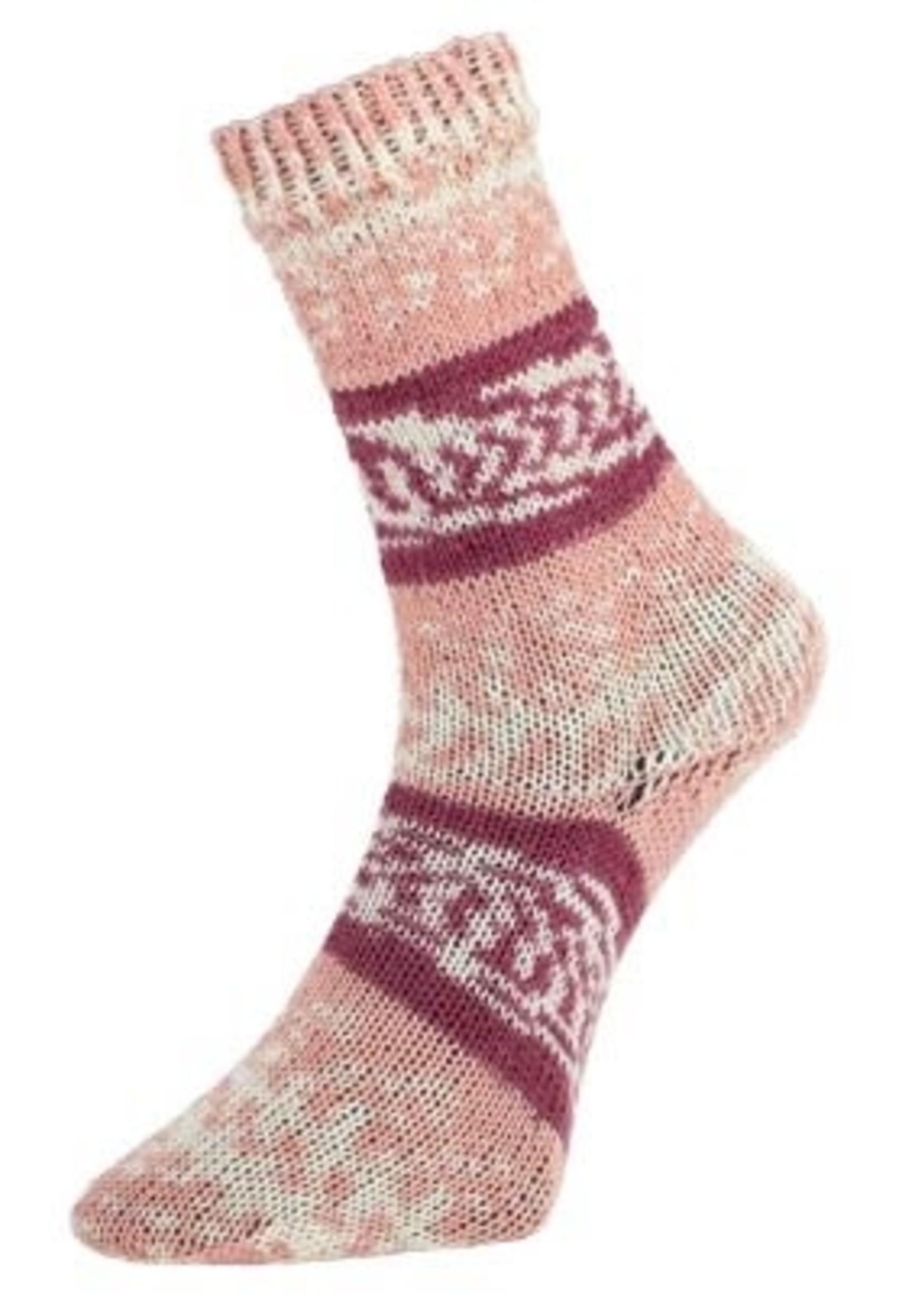 Pro Lana Pro Lana Sock Yarn Golden Fjord 4 Ply - #189 Bordeaux