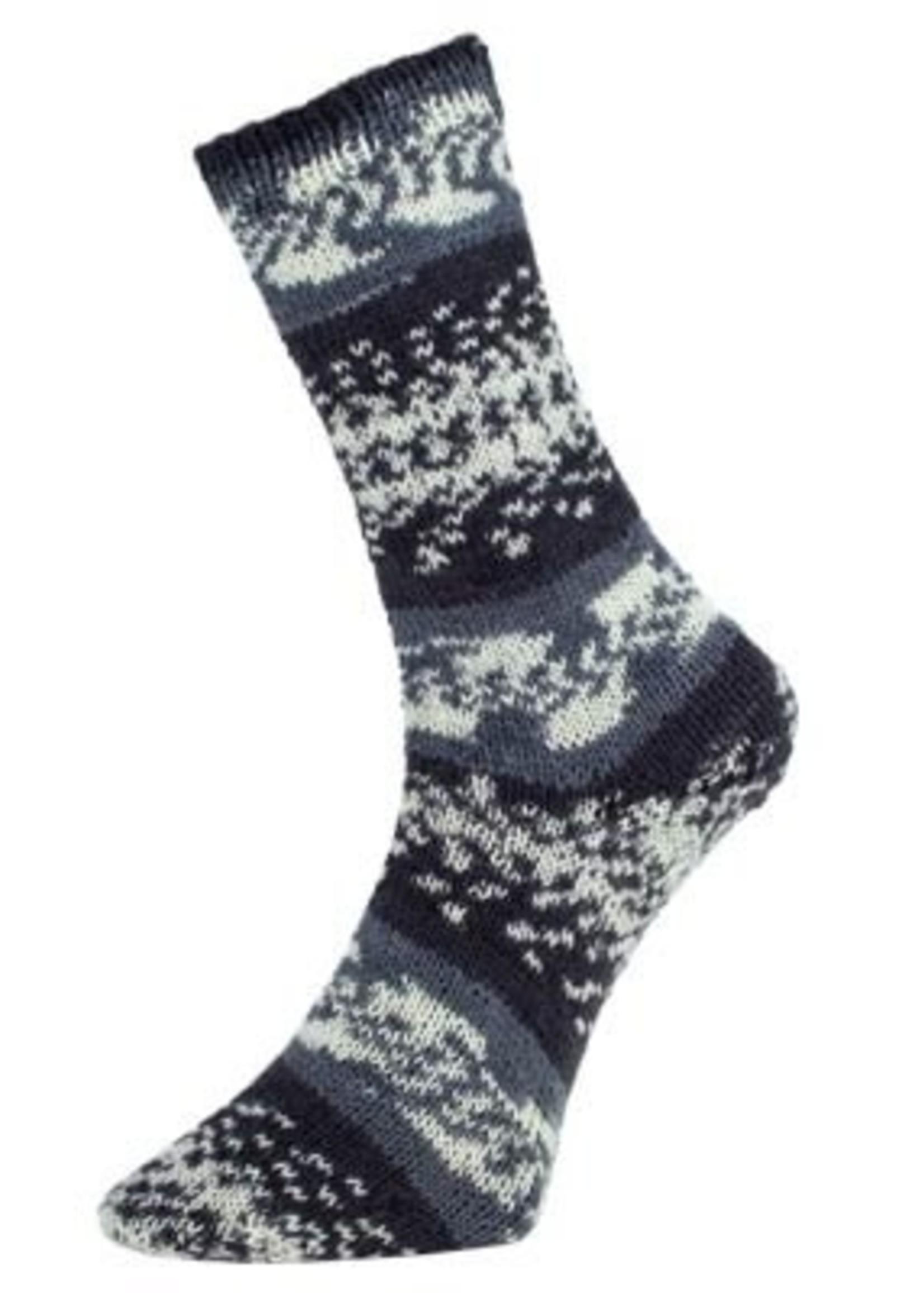 Pro Lana Pro Lana Sock Yarn Golden Fjord 4 Ply - #190 Grey