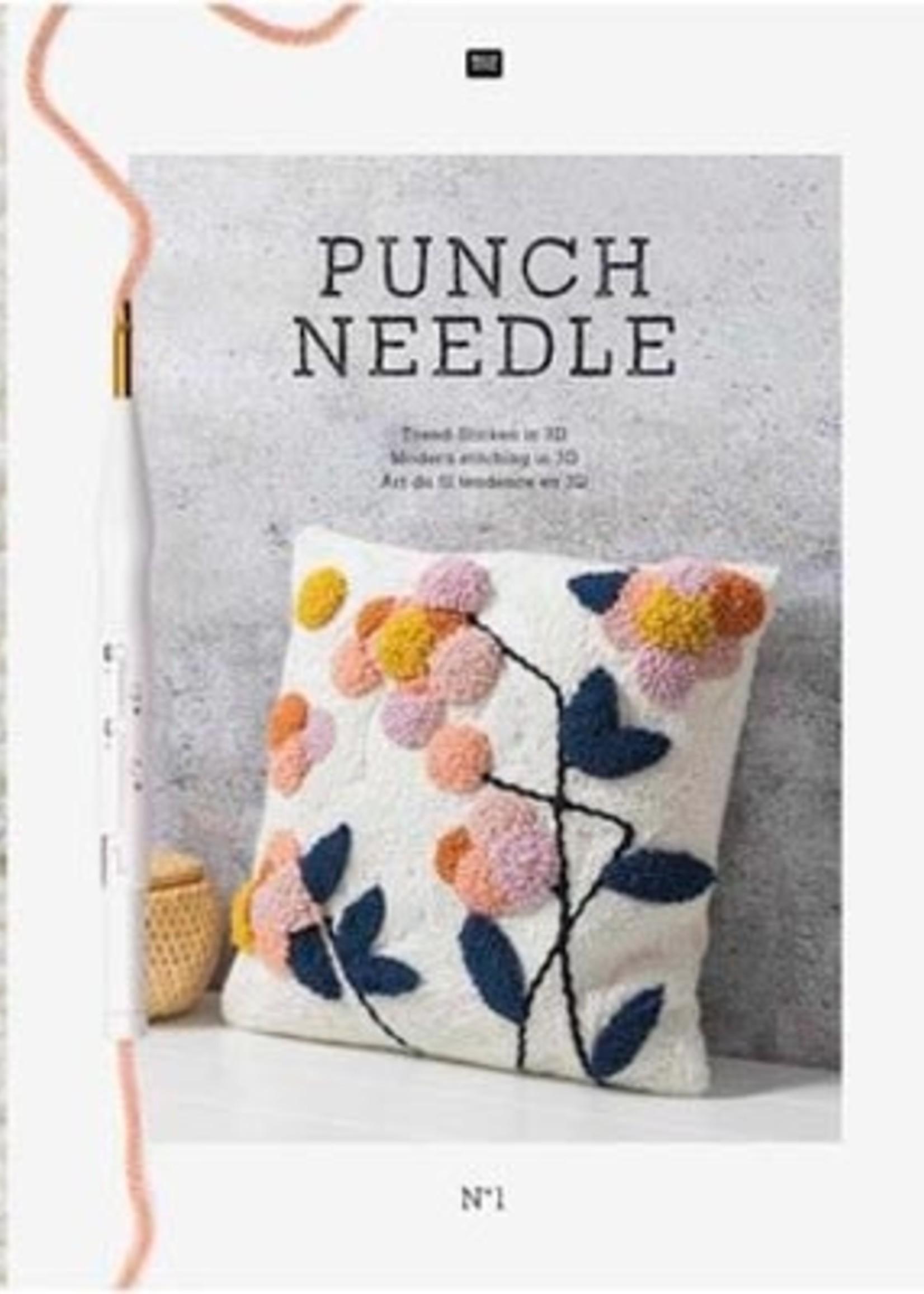 Rico Yarns Rico Punch Needle Book