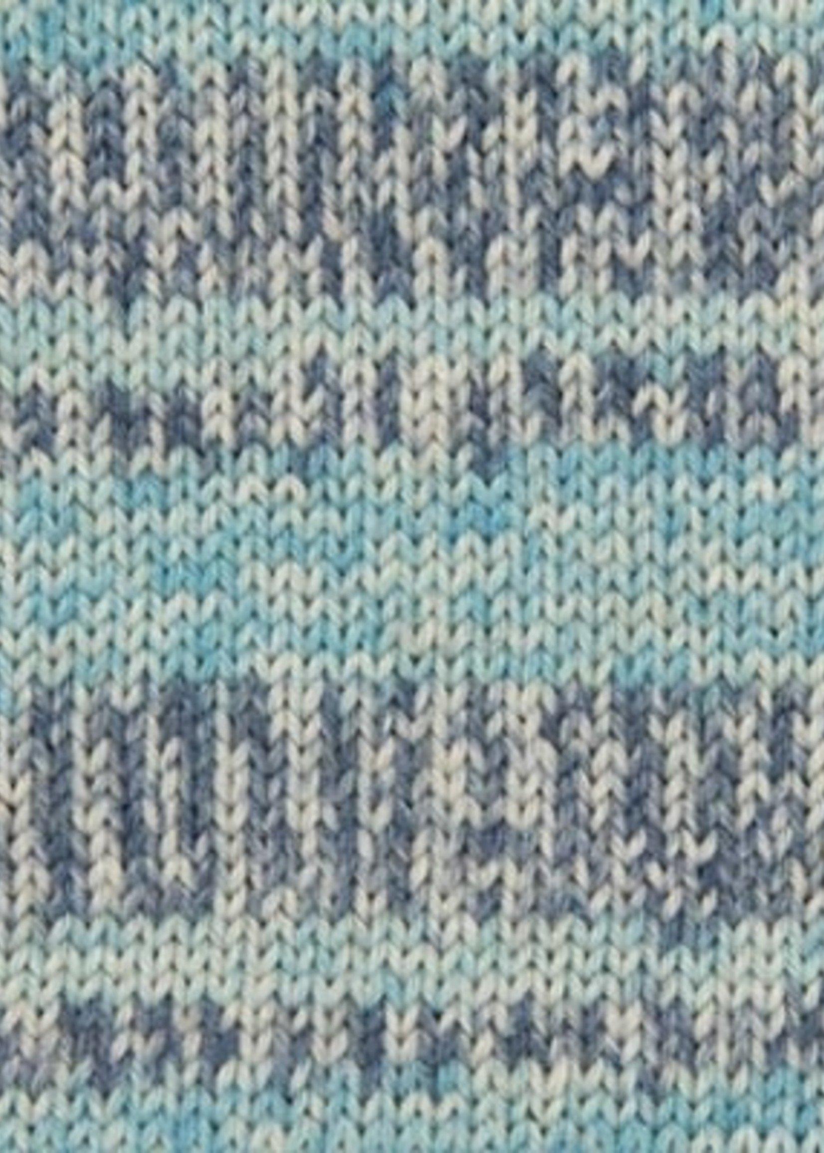 Rico Yarns Rico Superba Bamboo Sock Yarn - #16 Denim Pattern Mix
