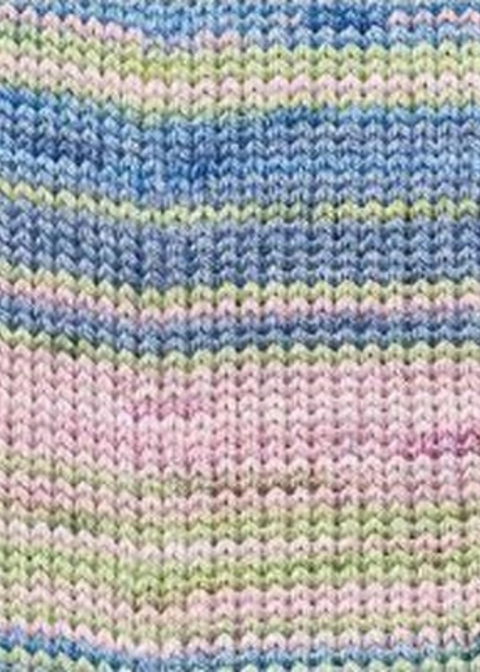 Rico Yarns Rico Superba Bamboo Sock Yarn - #18 Blue Green Mix