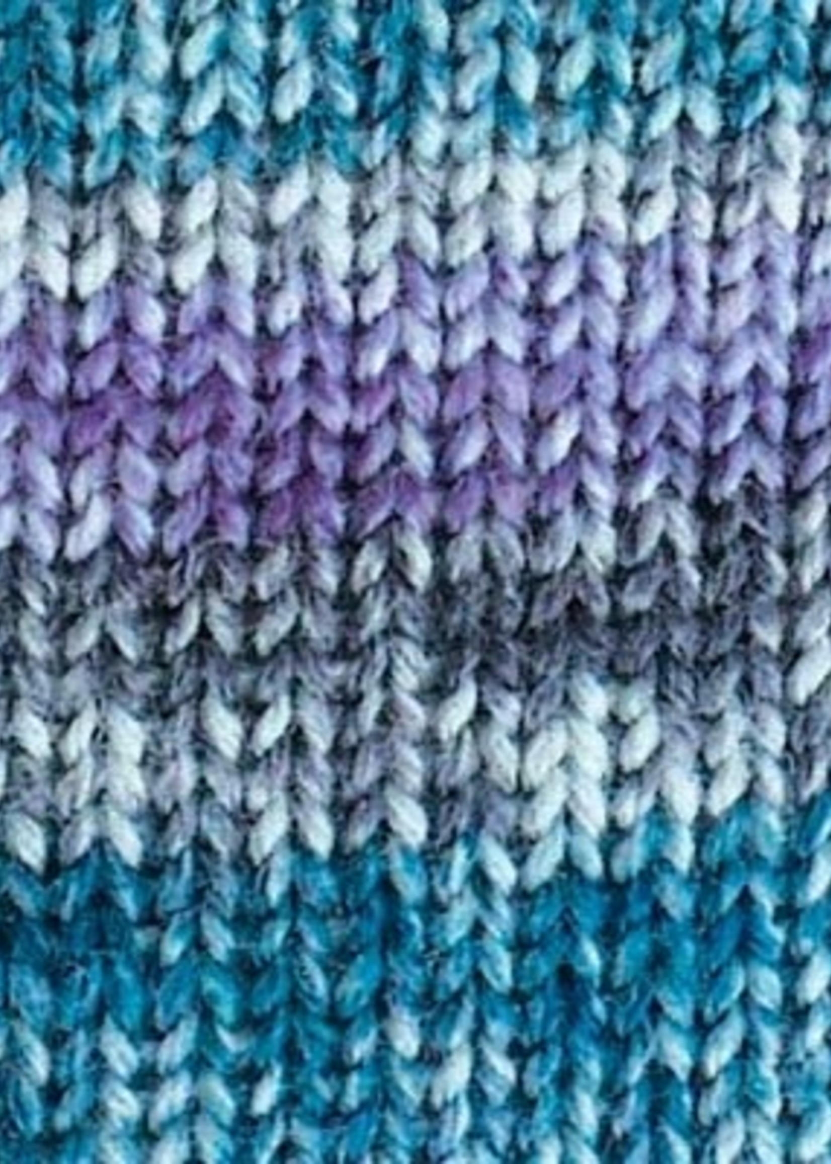 Rico Yarns Rico Superba Bamboo Sock Yarn - #23 Teal and Purple