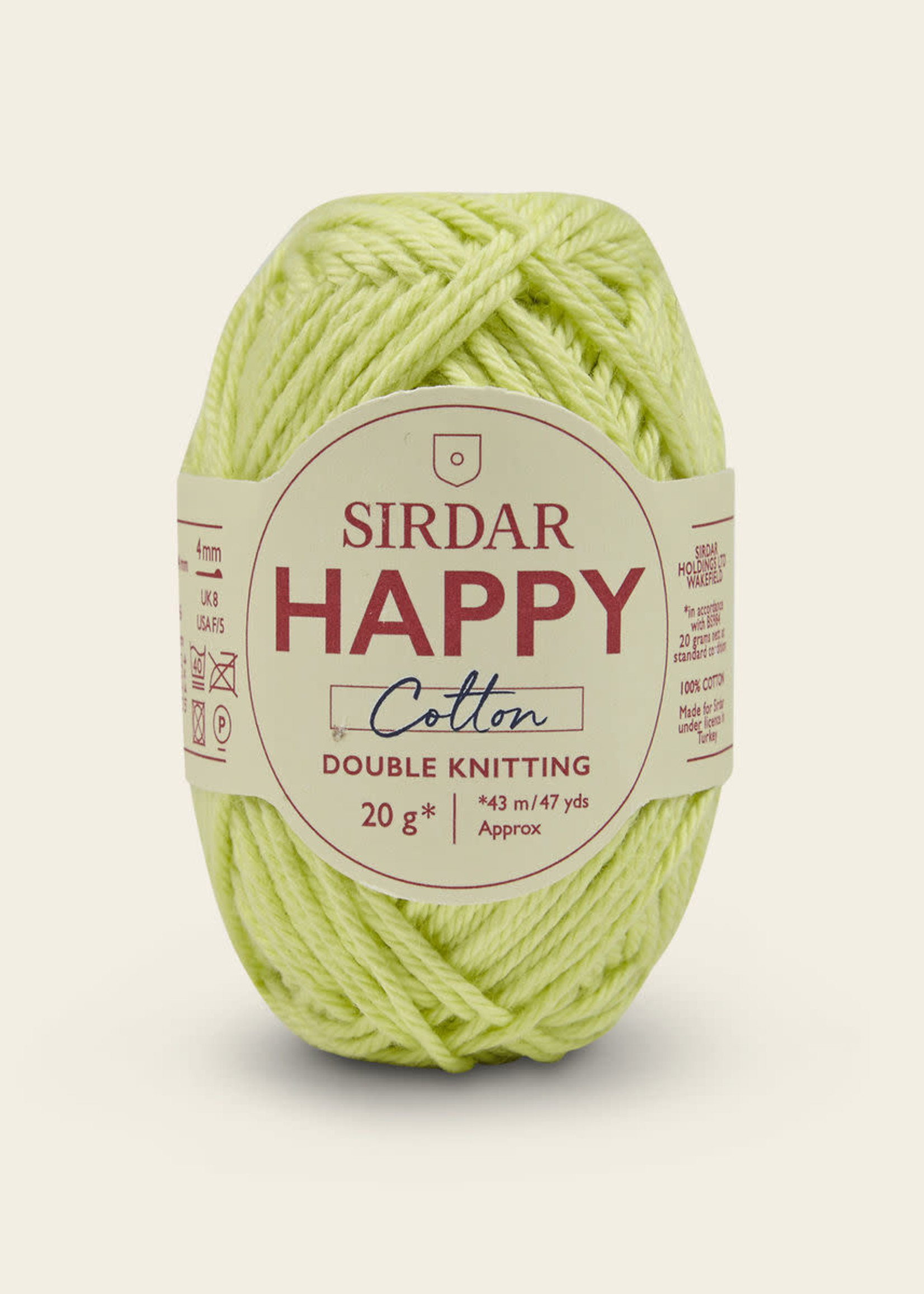 Sirdar Sirdar Happy Cotton #778 Sherbert