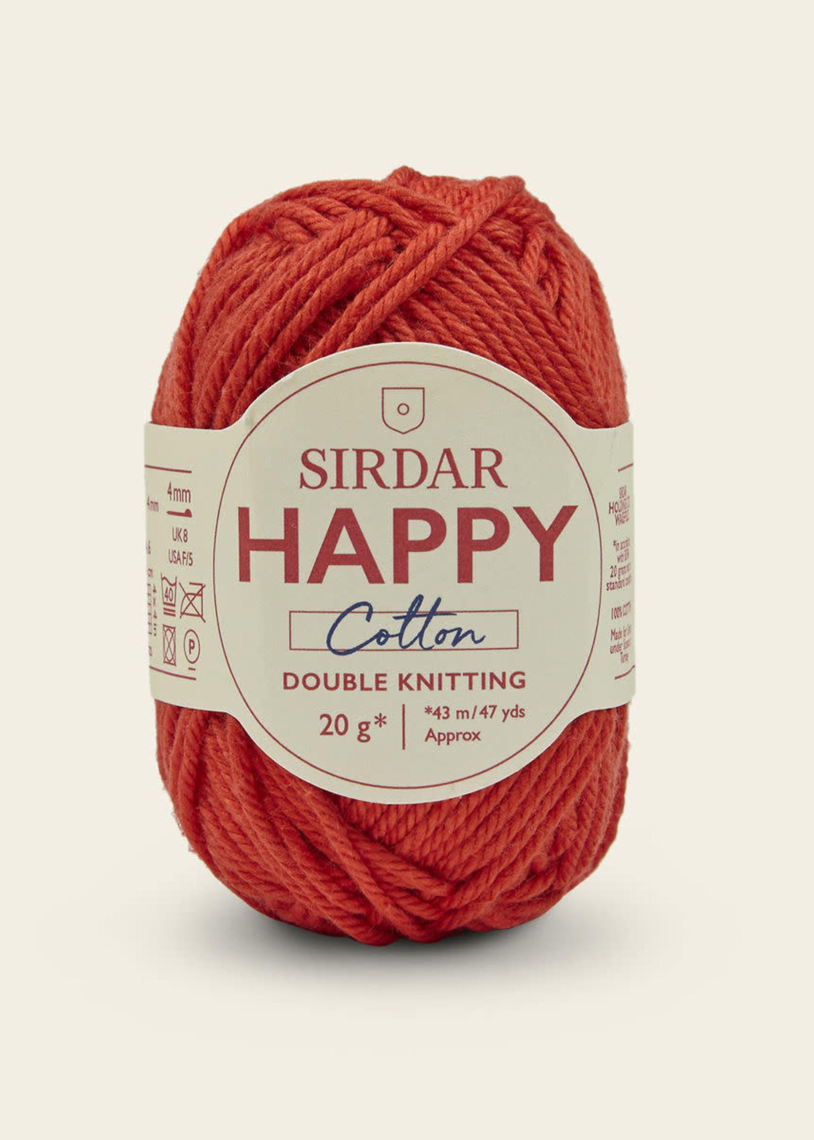 Sirdar Sirdar Happy Cotton #790 Ketchup