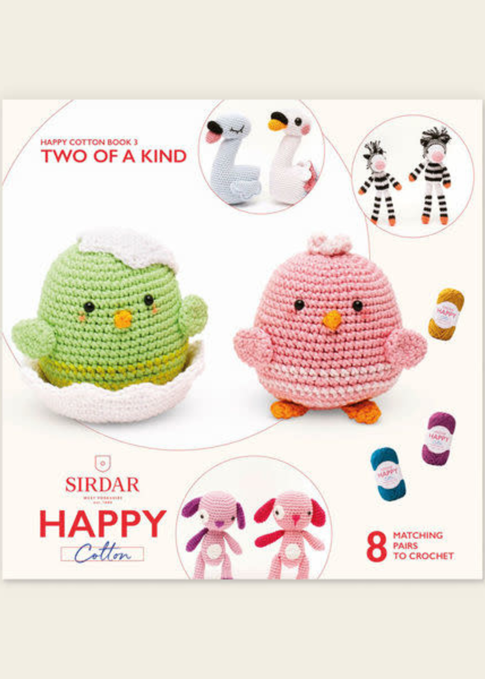 Sirdar Sirdar Happy Cotton Book 3 Two of a Kind