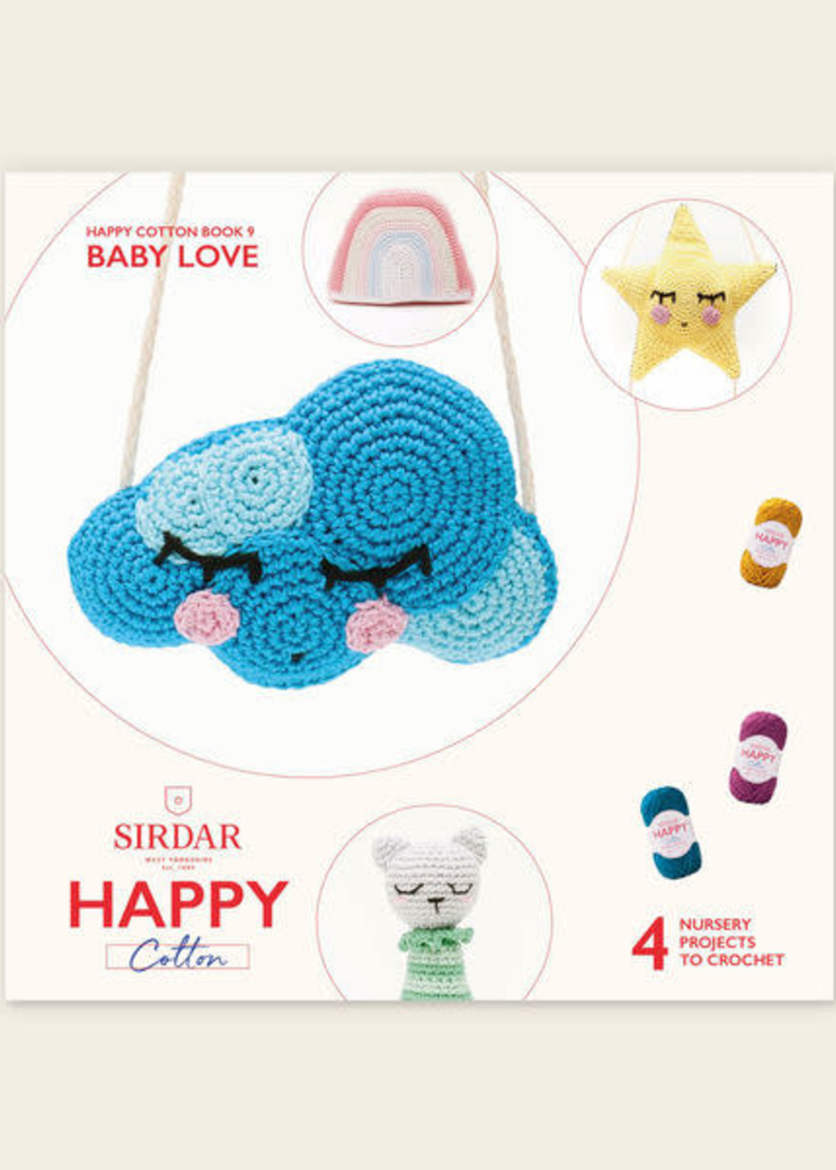 Sirdar Sirdar Happy Cotton Book 9 Baby Love