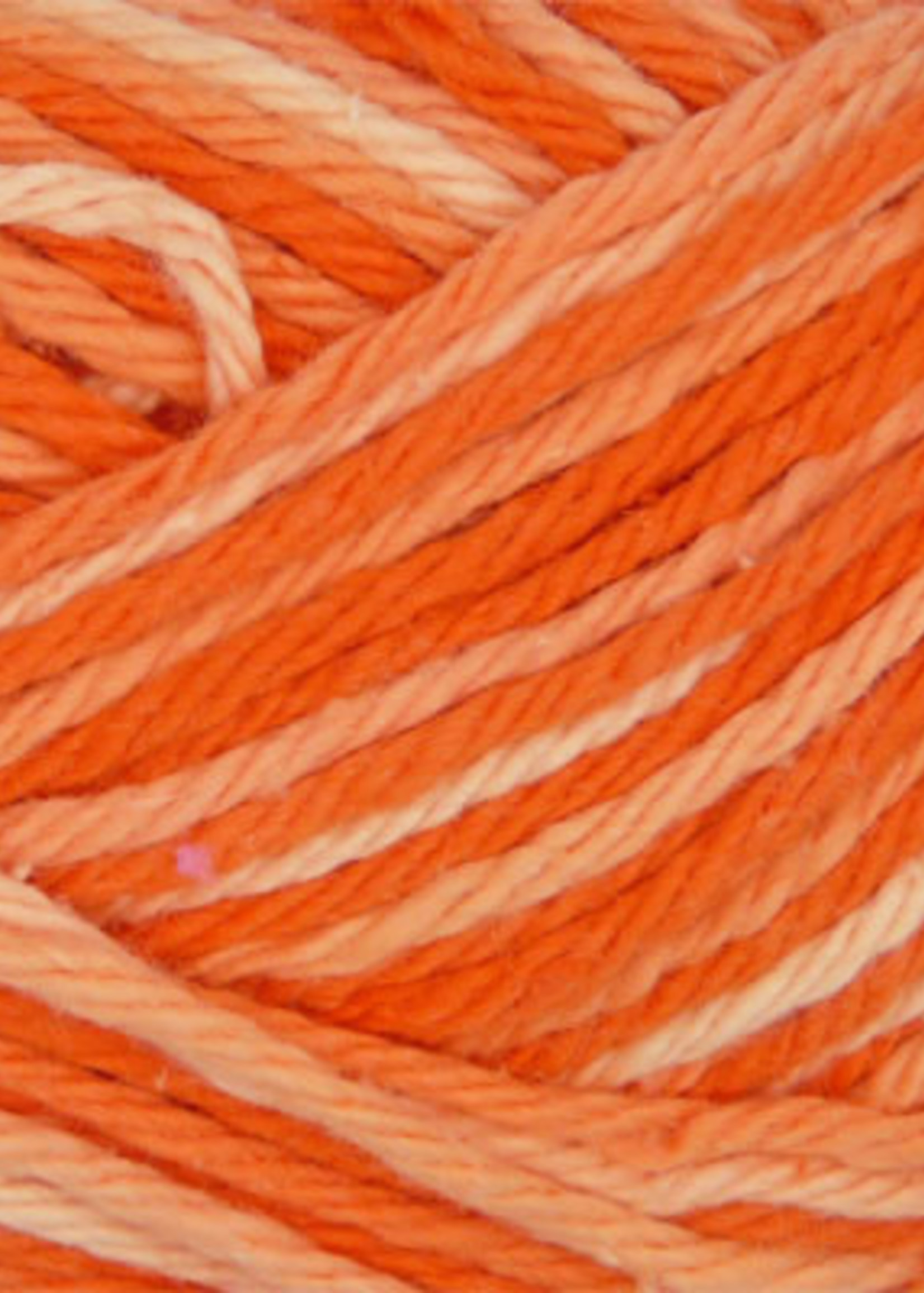 Estelle Yarns Sudz Multi Cotton #53905 Tangerine