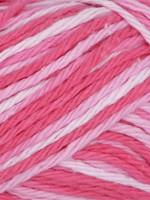 Estelle Yarns Sudz Tonal Cotton #53909 Pink Strawberry
