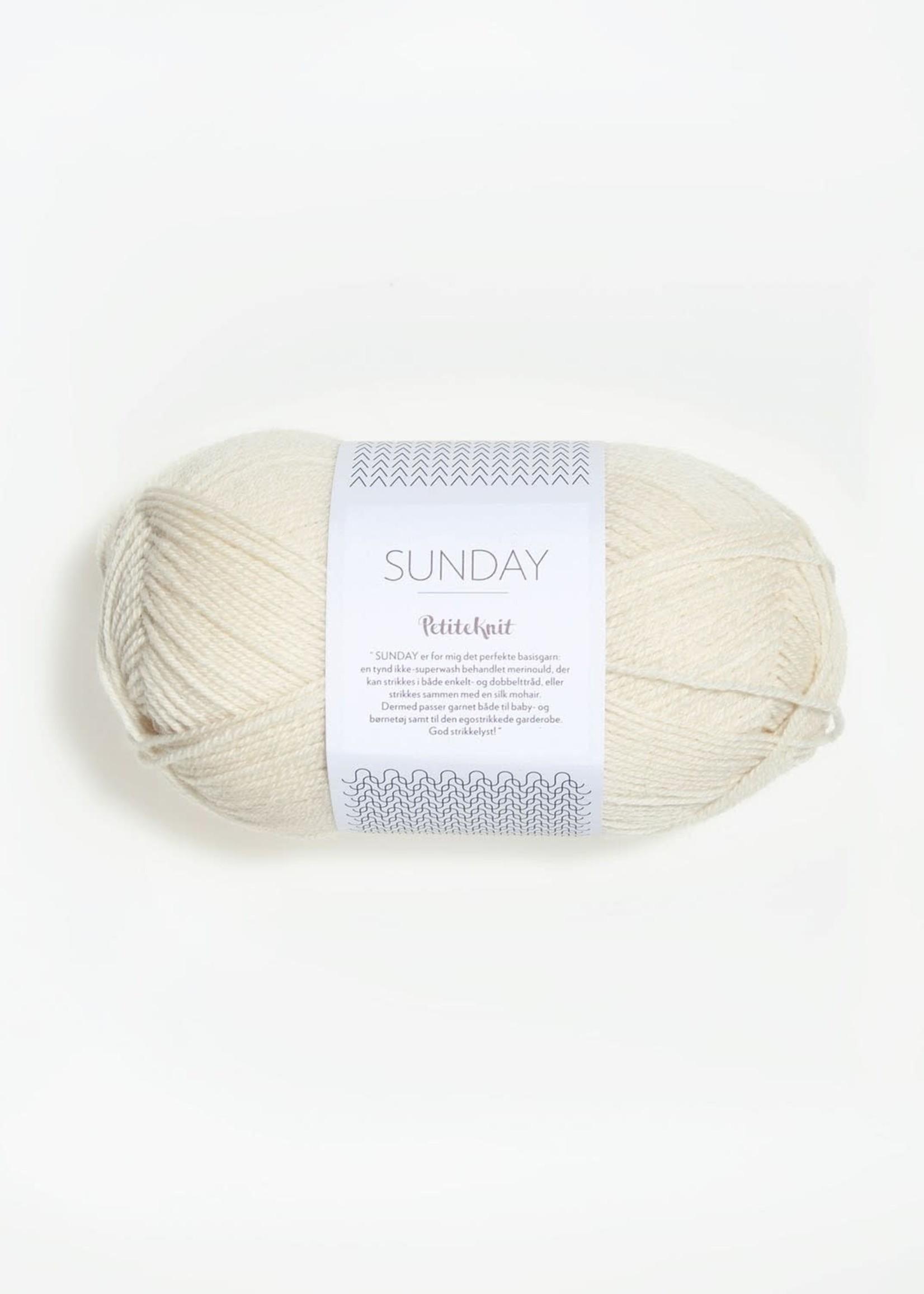 Sandnes Garn Sunday - #1012 Whipped Cream